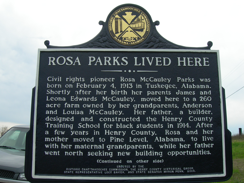 Rosa Parks Childhood Home » Abbeville, AL
