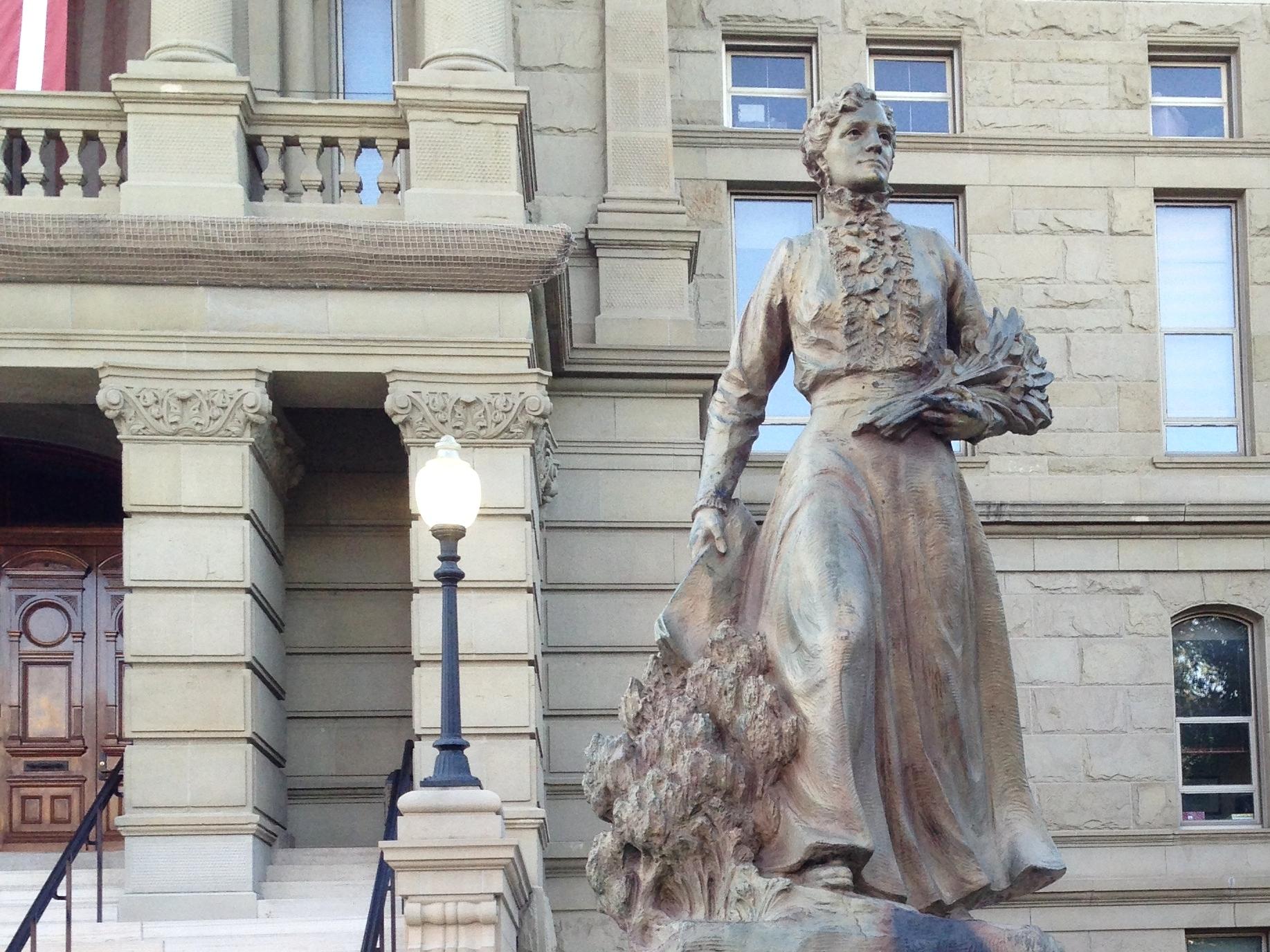 Esther Hobart Morris Statue » Cheyenne, WY