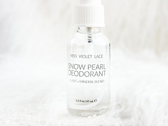 Essential oil deodorant spray