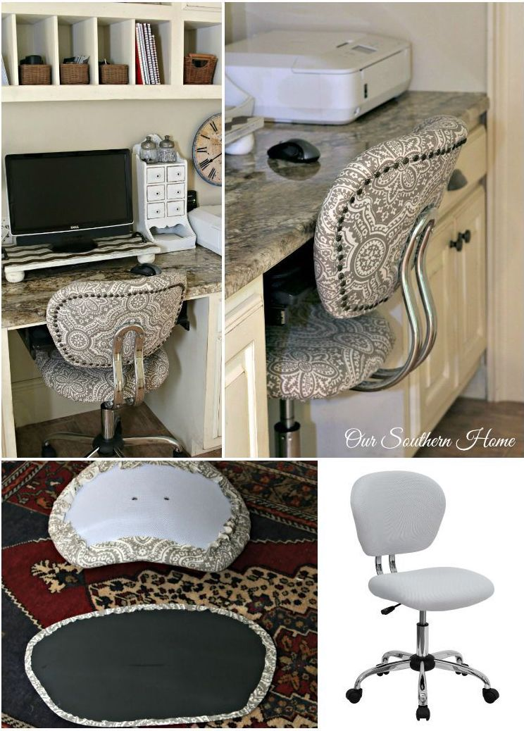 Swivel chair makeover