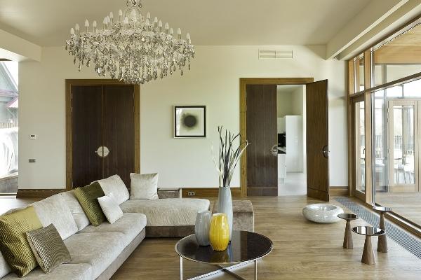 Интерьеры дома в Иславском