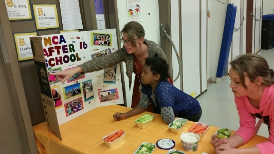 Helena Middle School and Bryant Elementary School  Lights On Afterschool! event, October 13, 2016