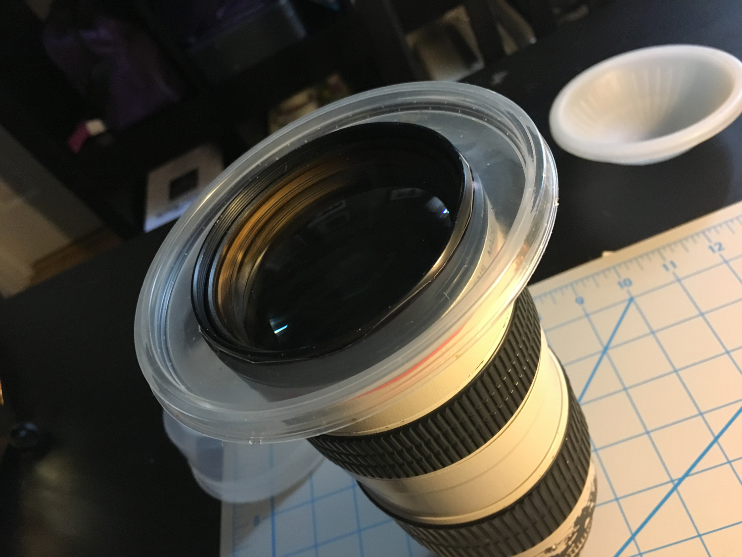 Solar Eclipse Filter in 10 min for under $10