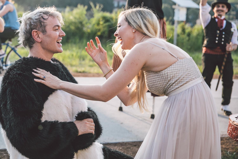 Editorial Alternative Wedding Photography in Atlanta, GA
