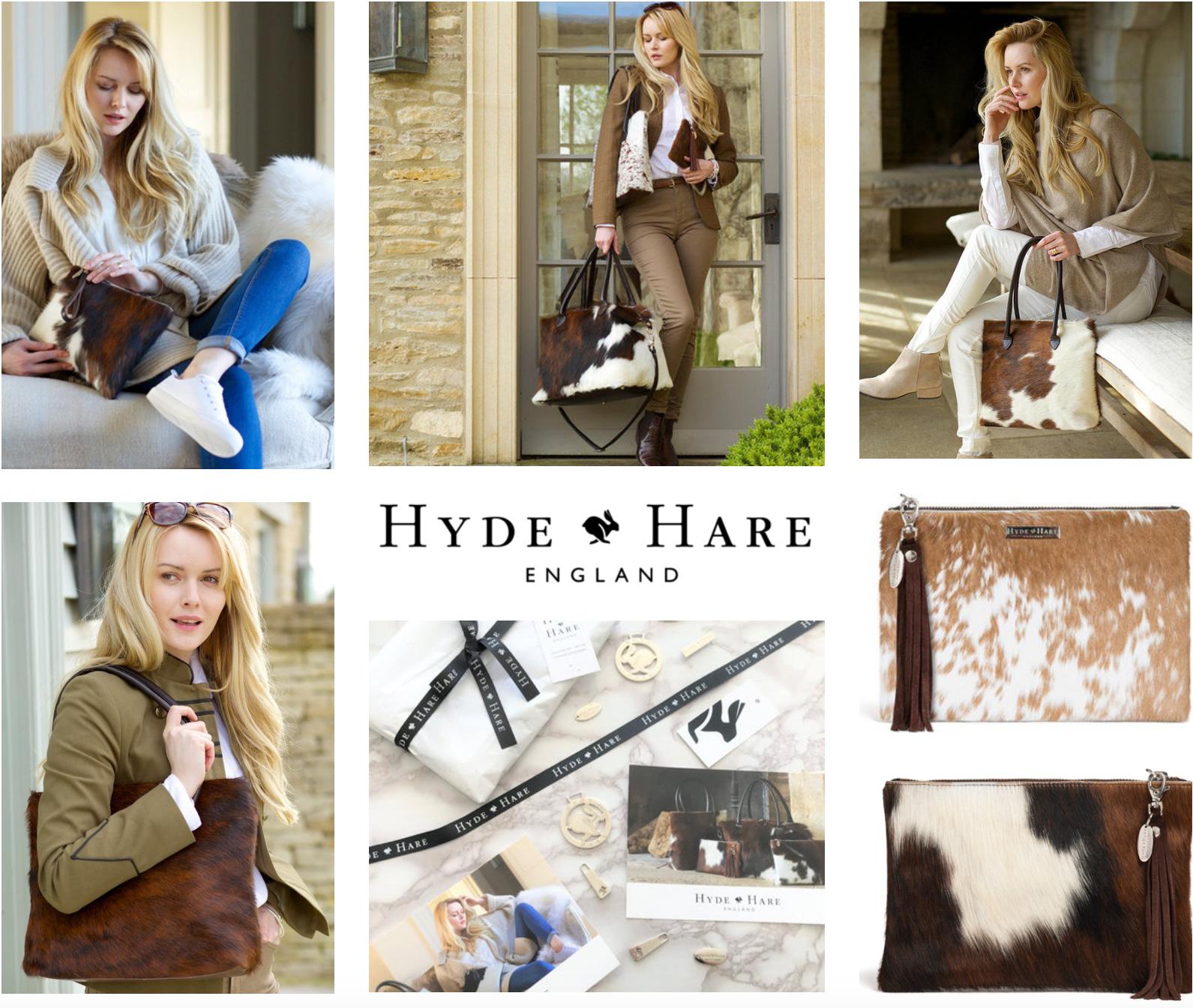 Hyde & Hare case study branding