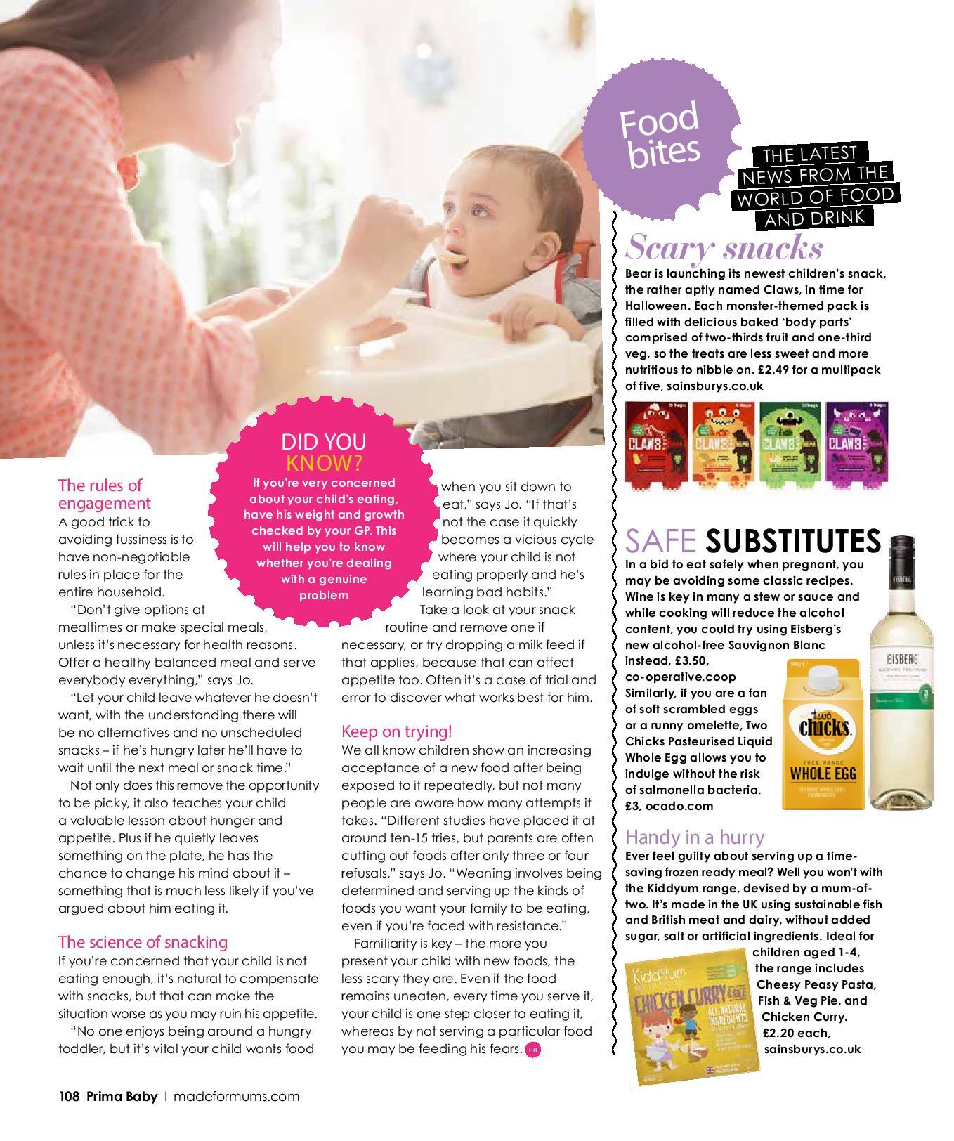 Prima Baby Magazine Feature