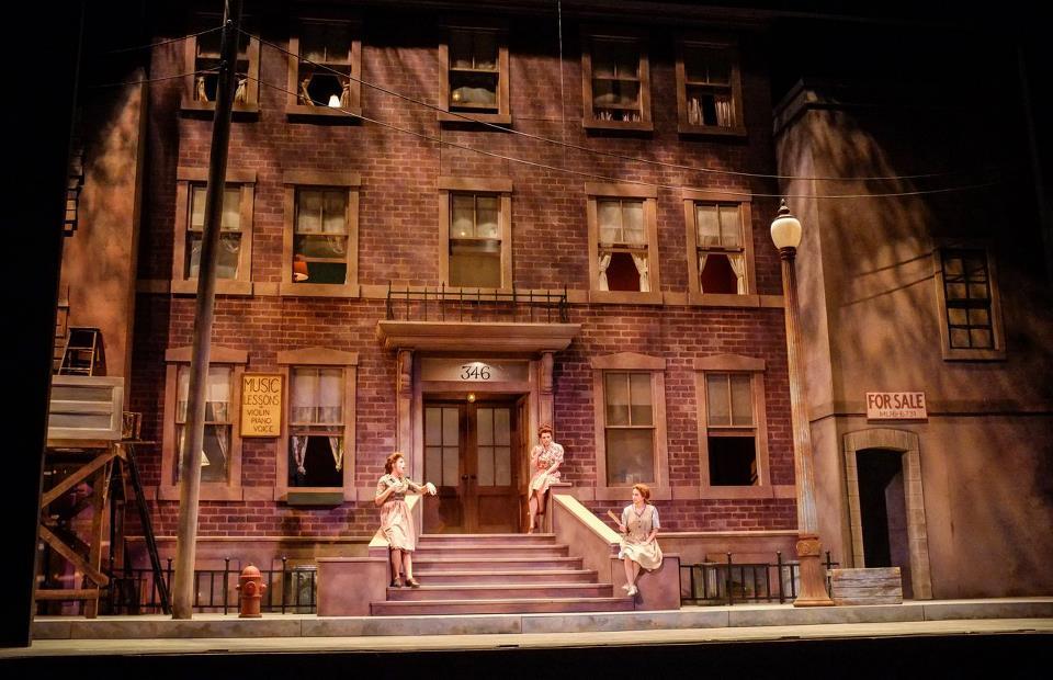 Mrs. Jones, Street Scene, Eastman School of Music