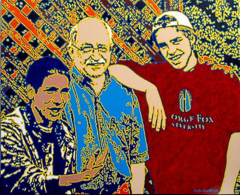Josh, Doug and Ian