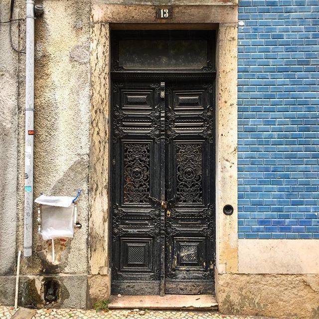 Nondescript door #1of3 Images from Lisbon and Porto #portalporn #arch #archstudent #architecture #doorporn #beautiful #decay #urbanart #urbandecay #graffiti #wearandtear #travel #architexture #texture #citylife