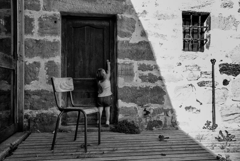 Viewfinder - vakantieifoto - Dordogne - wandelen
