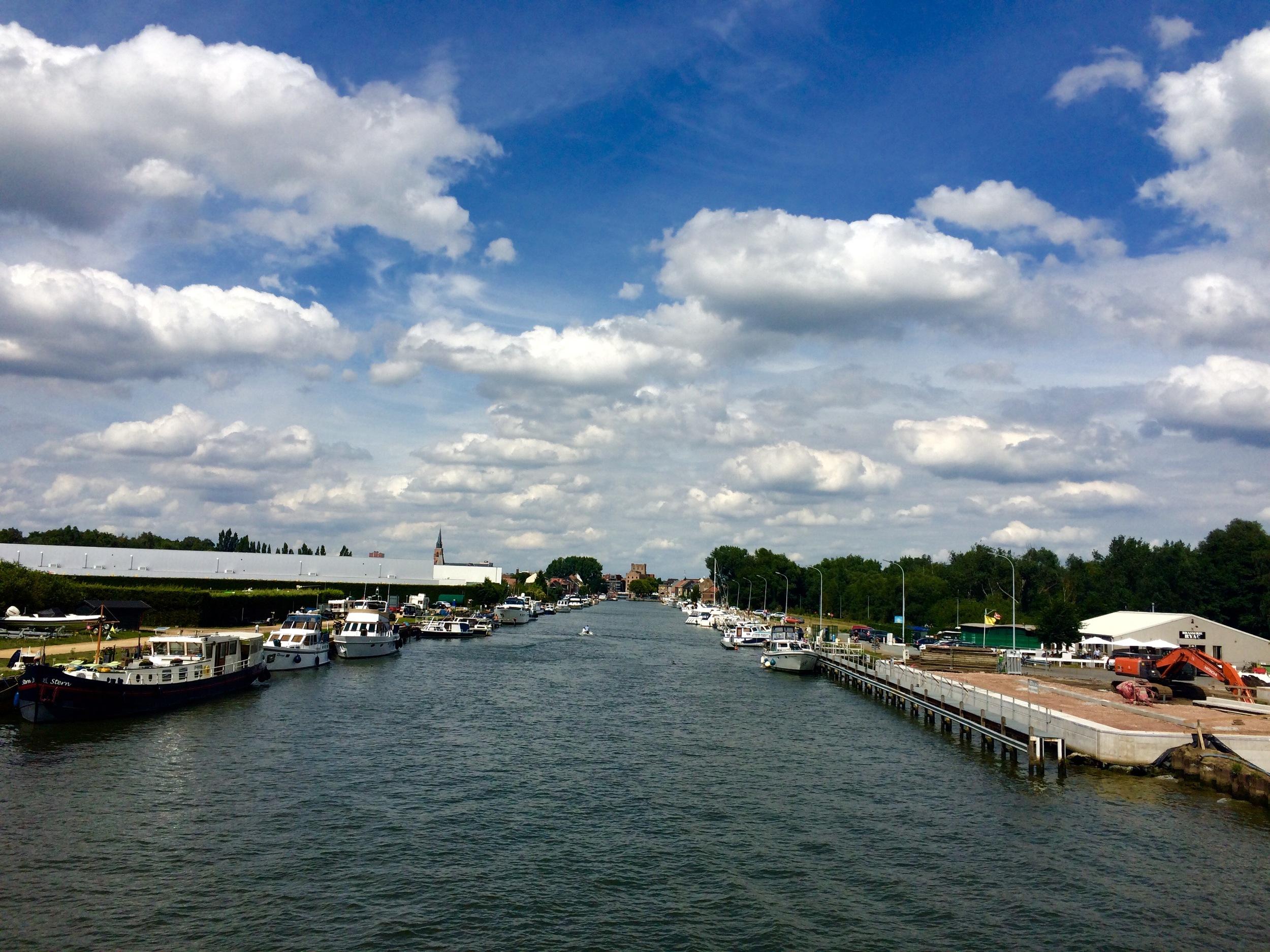 Viewfinder-smartphone-fotografie-jachthaven-Klein-Willebroek