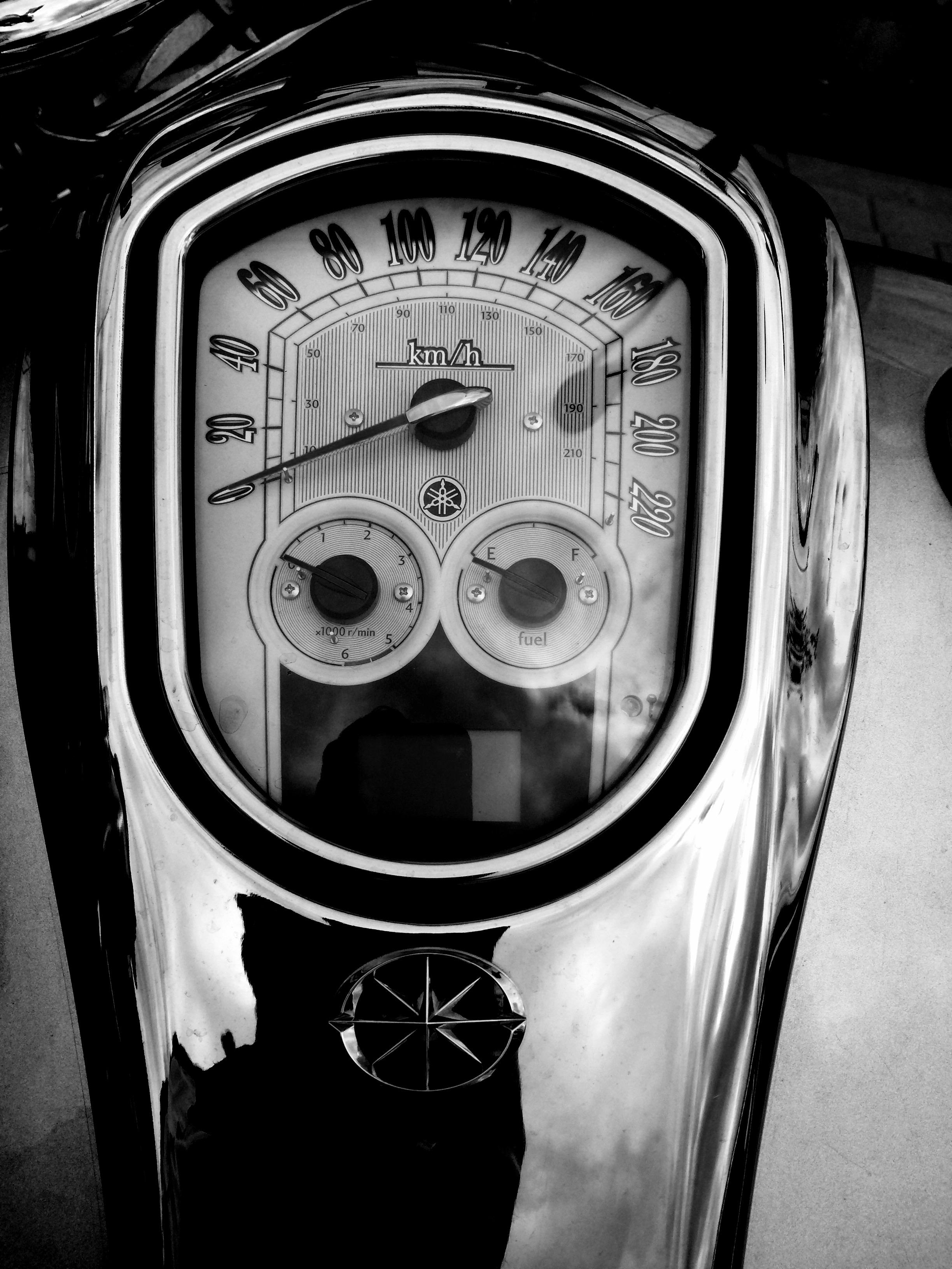Viewfinder - close up kilometerteller