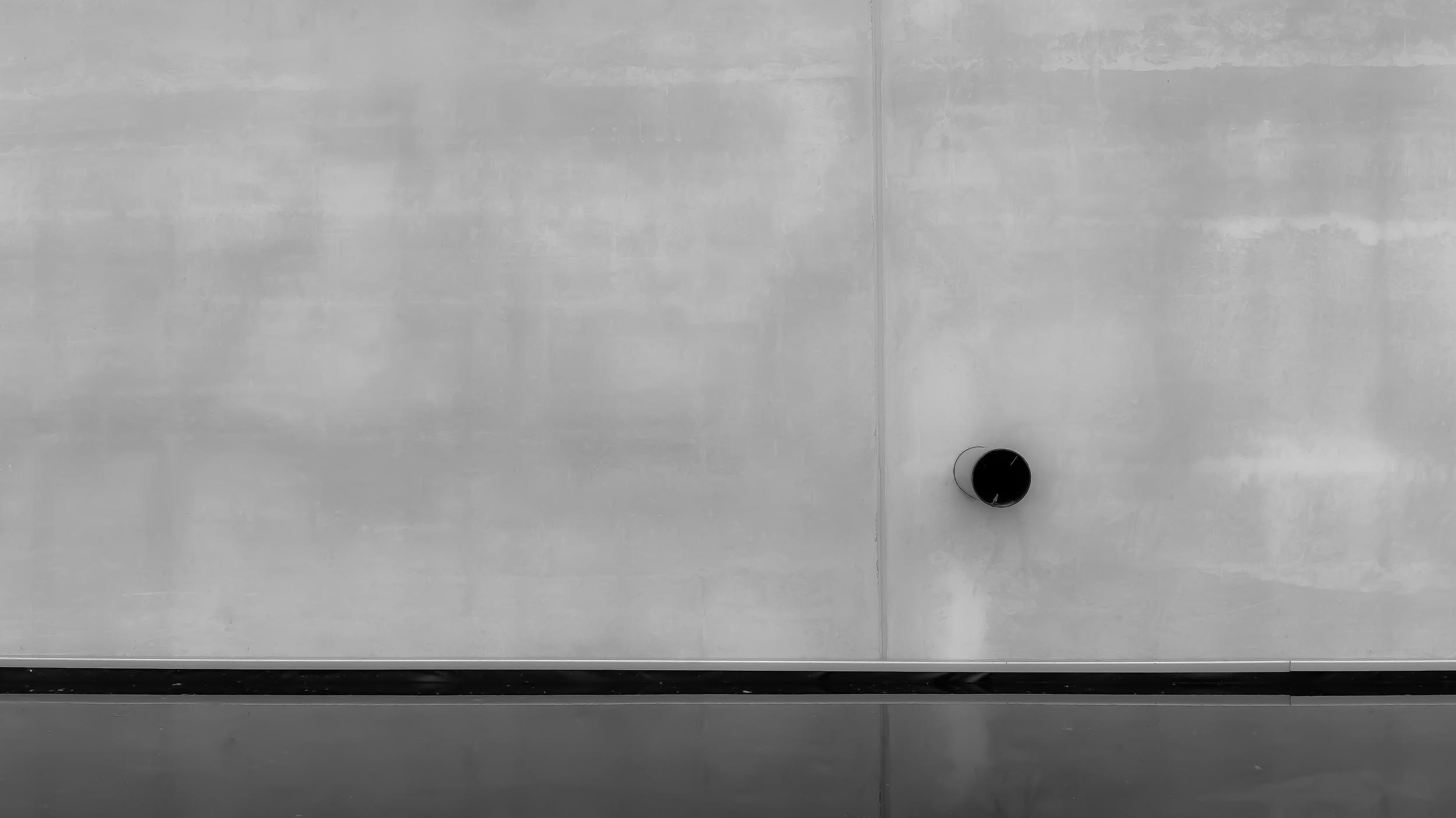 1/3 regel links in abstracte fotografie - minimalisme