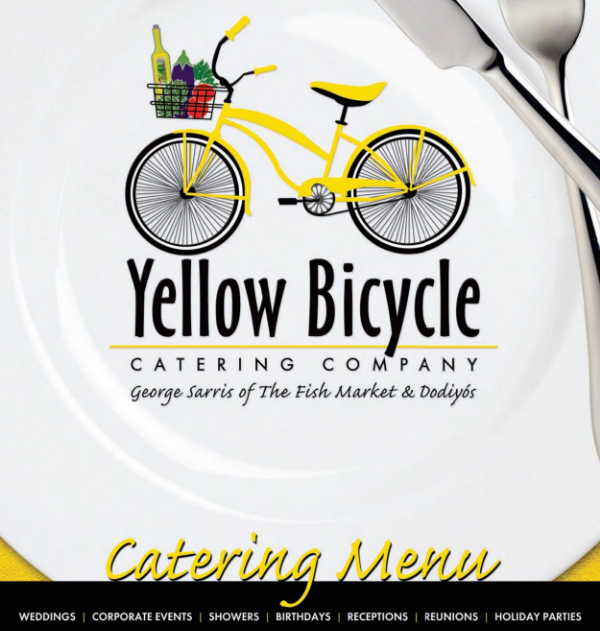Click to download our Yellow Bicycle Catering Menu