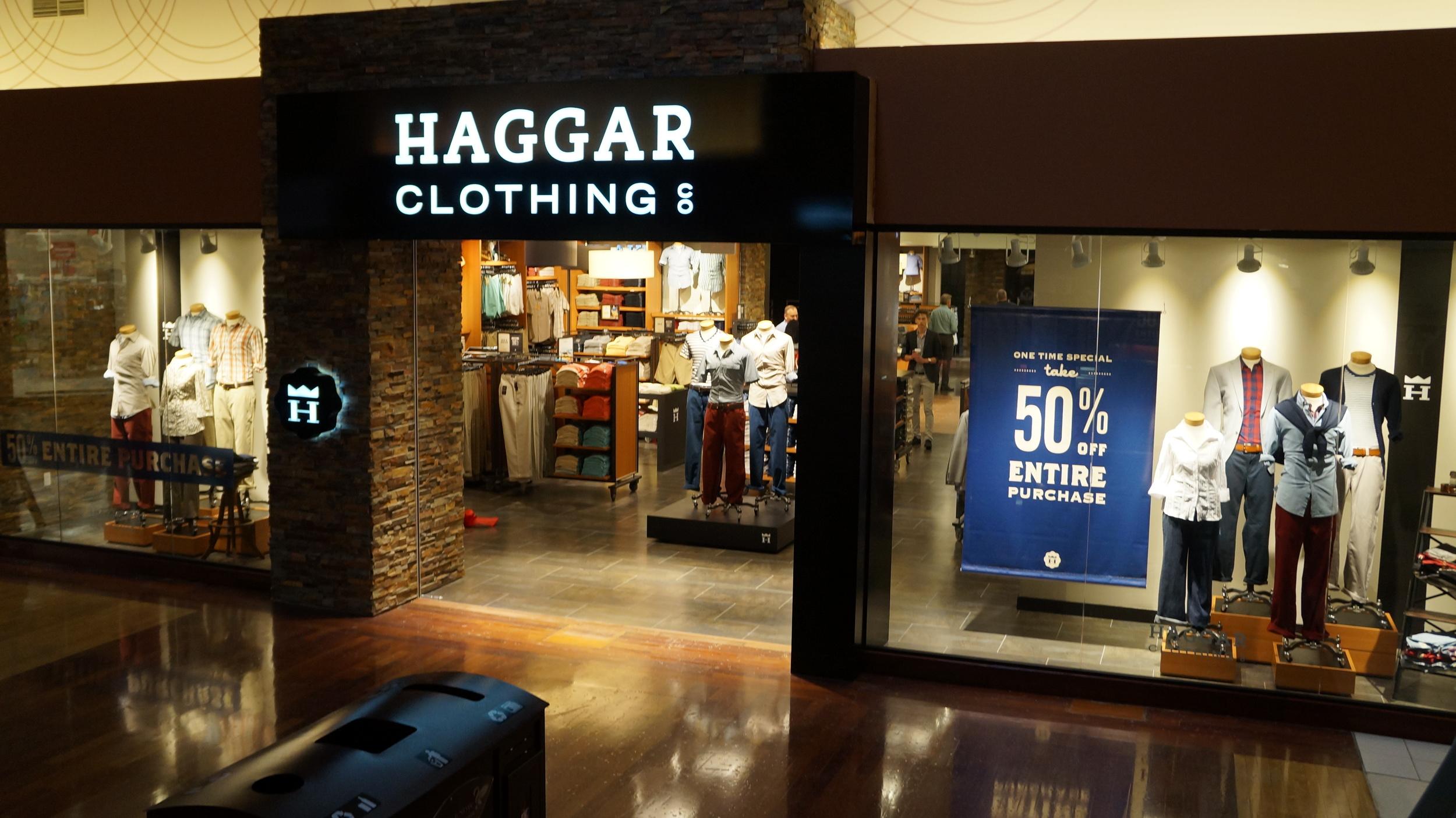Interior Mall Storefront