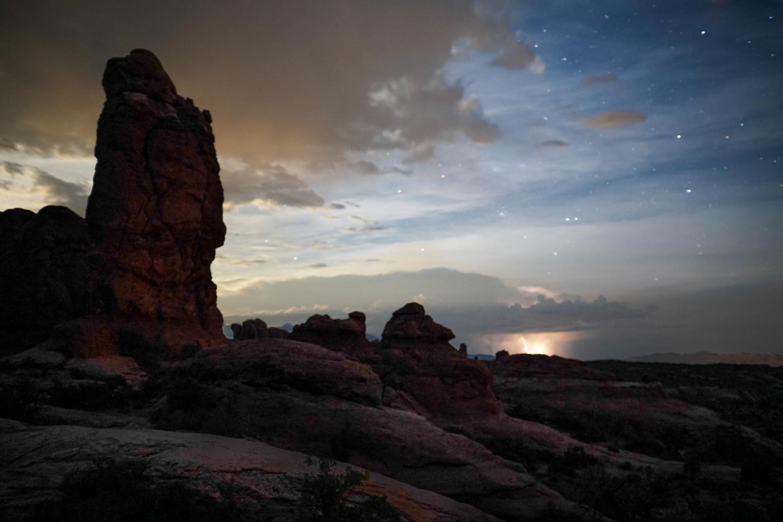 Lightning Storm as seen from the Garden of Eden