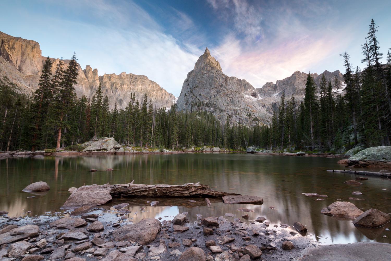 the national parks girl_rocky mountain national park_colorado_lone eagle peak_mirror lake_canon6d.JPG
