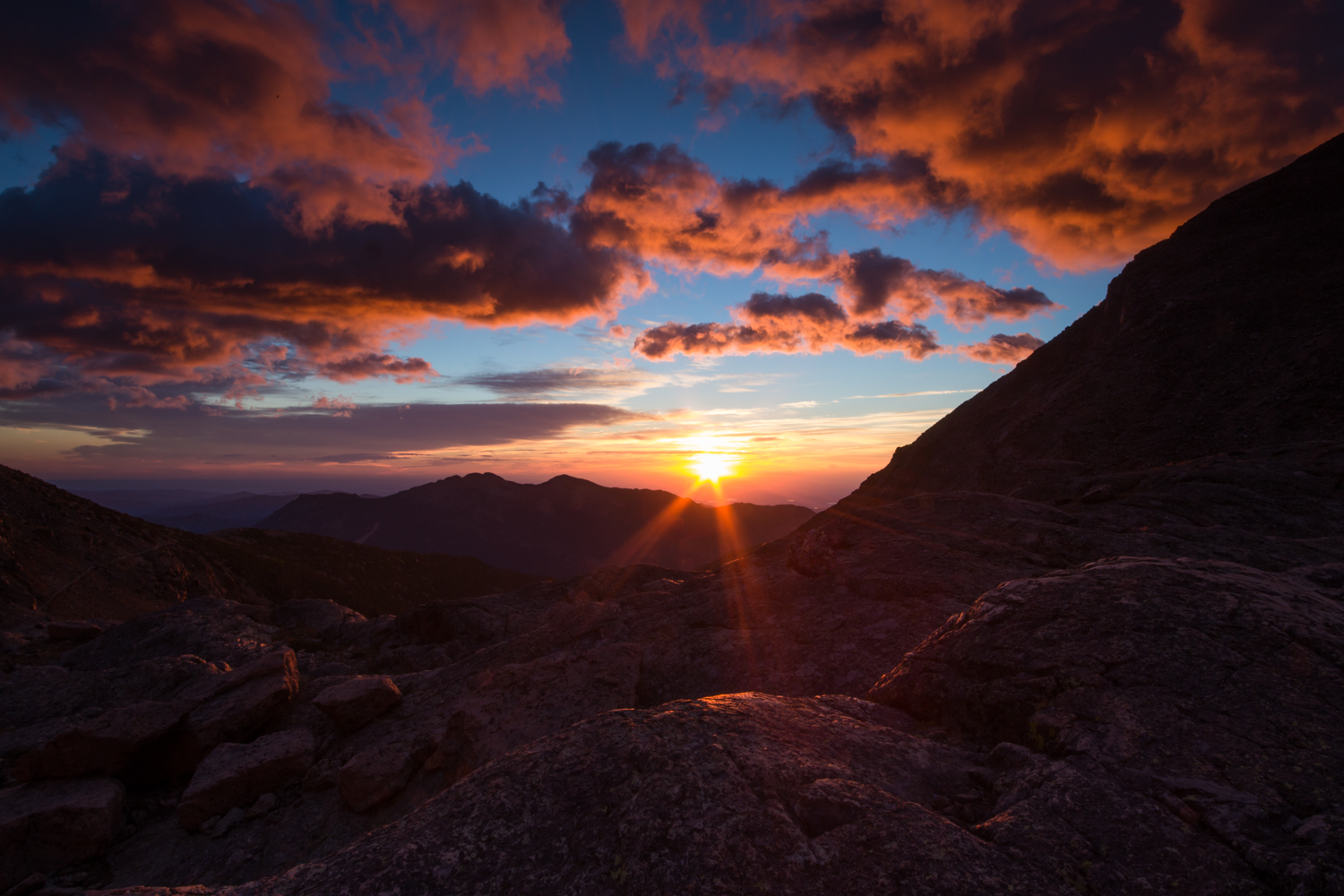 the national parks girl_sunrise hike_rocky mountain national park_colorado_chasm lake_canon6d.JPG