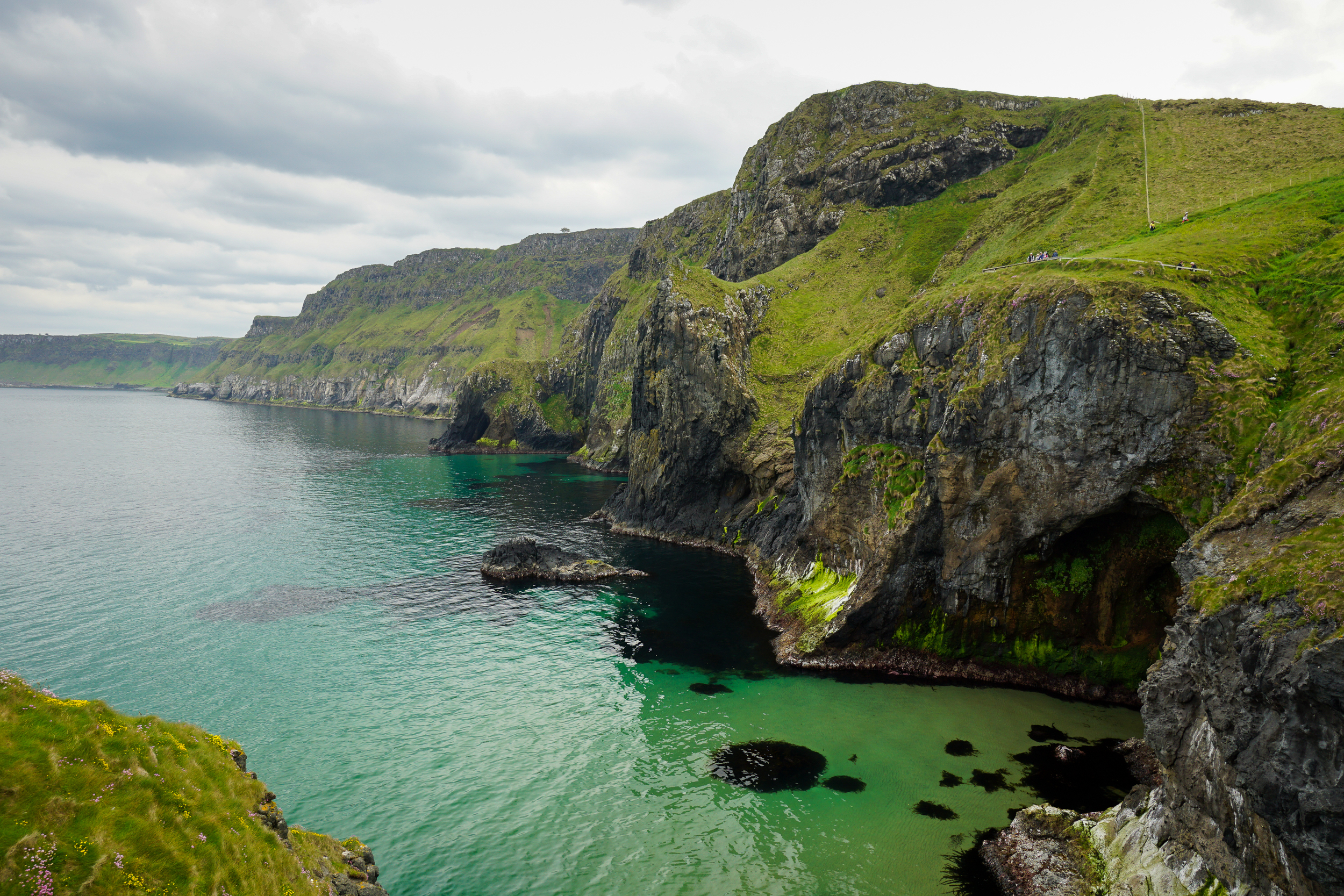 the national parks girl_ireland_sony_irish road trip_carrick a rede_carrick a rede rope bridge.JPG