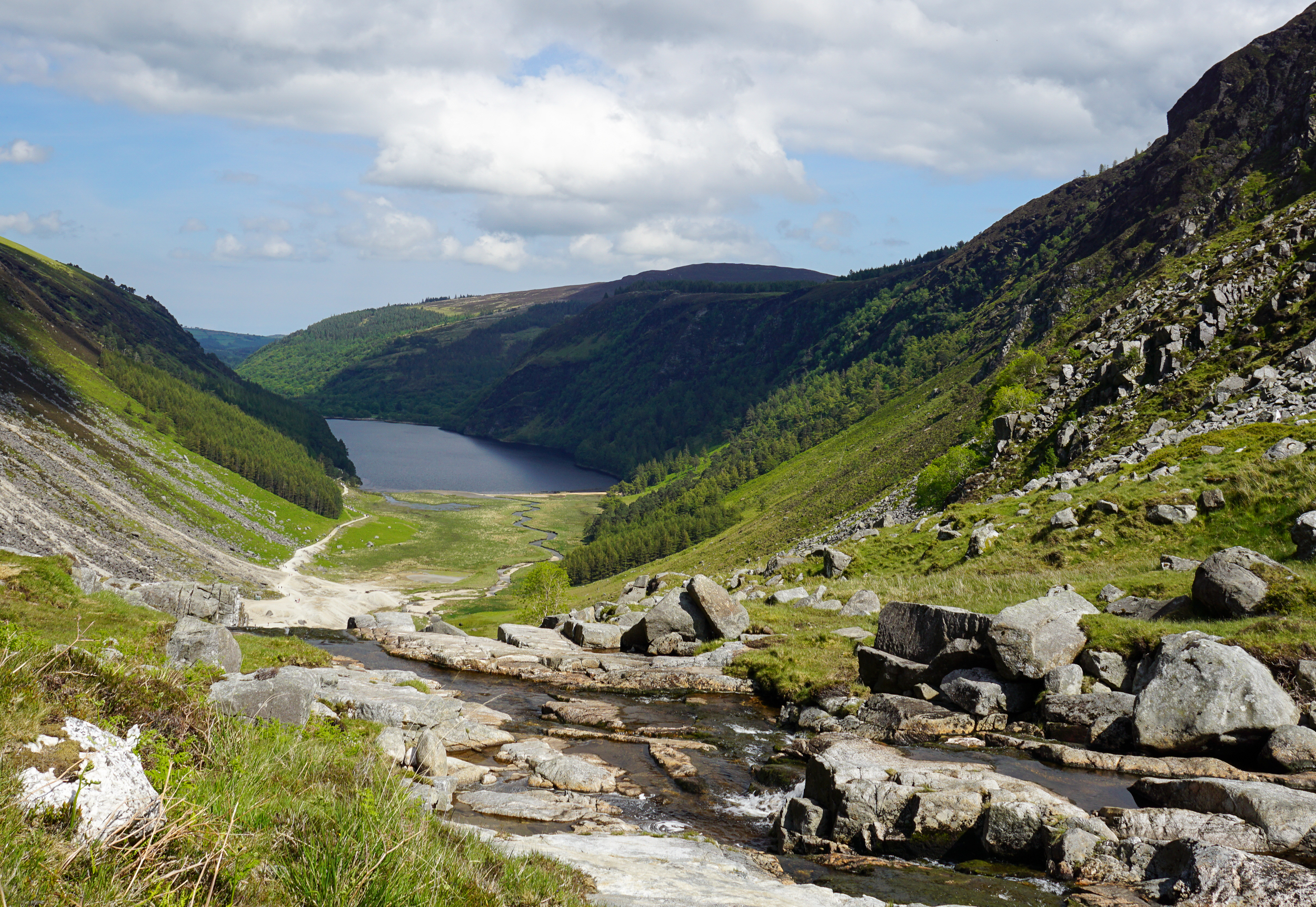 the national parks girl_ireland_sony_irish road trip_glendalough valley_glenealo valley_white route.JPG