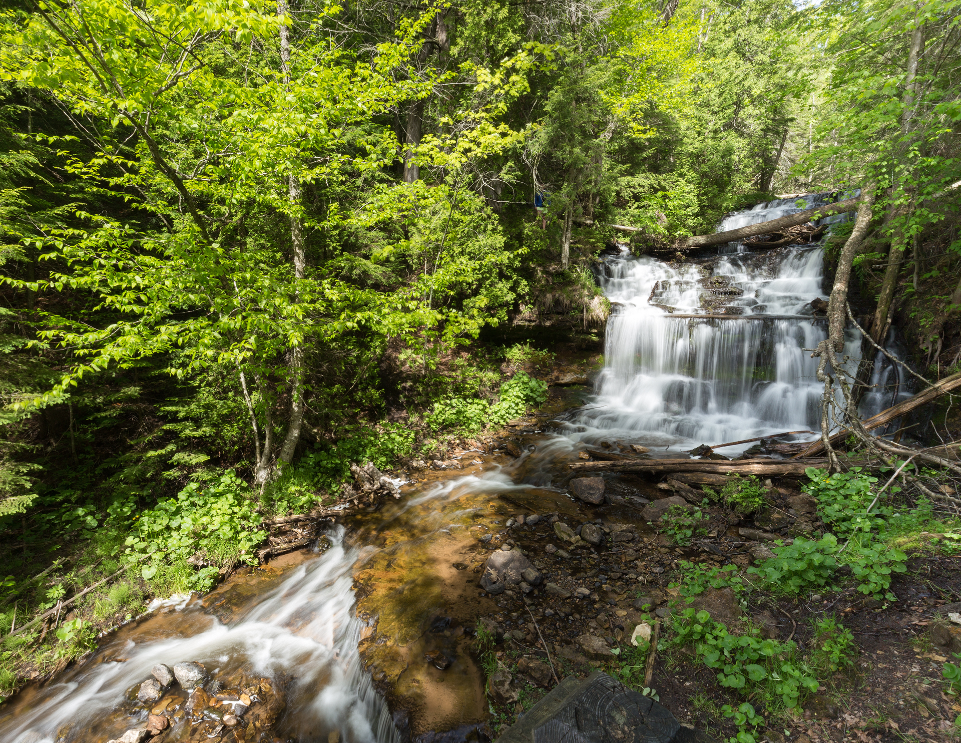 the national parks girl_pictured rocks national lakeshore_chapel loop_beaver creek_canon6d-3.jpg