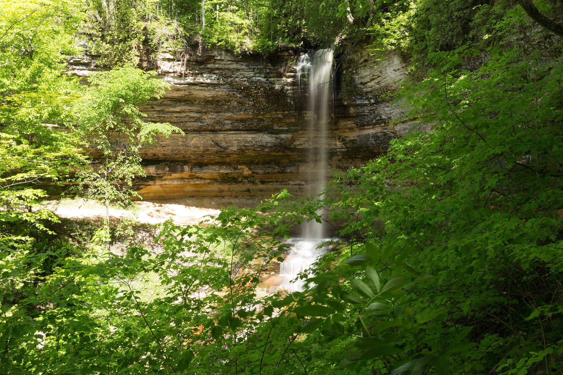 the national parks girl_pictured rocks national lakeshore_chapel loop_beaver creek_canon6d-5.jpg