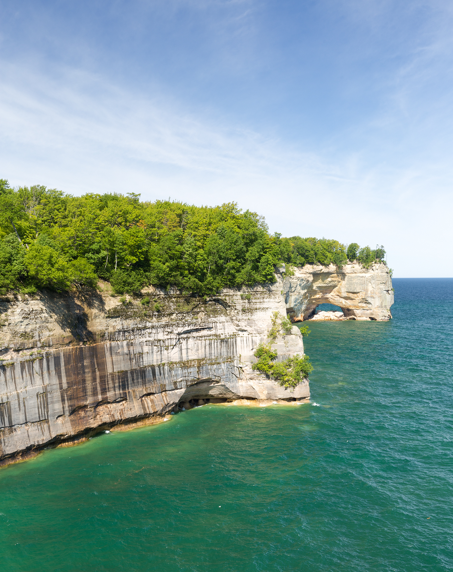 the national parks girl_pictured rocks national lakeshore_chapel loop_beaver creek_canon6d-15.jpg