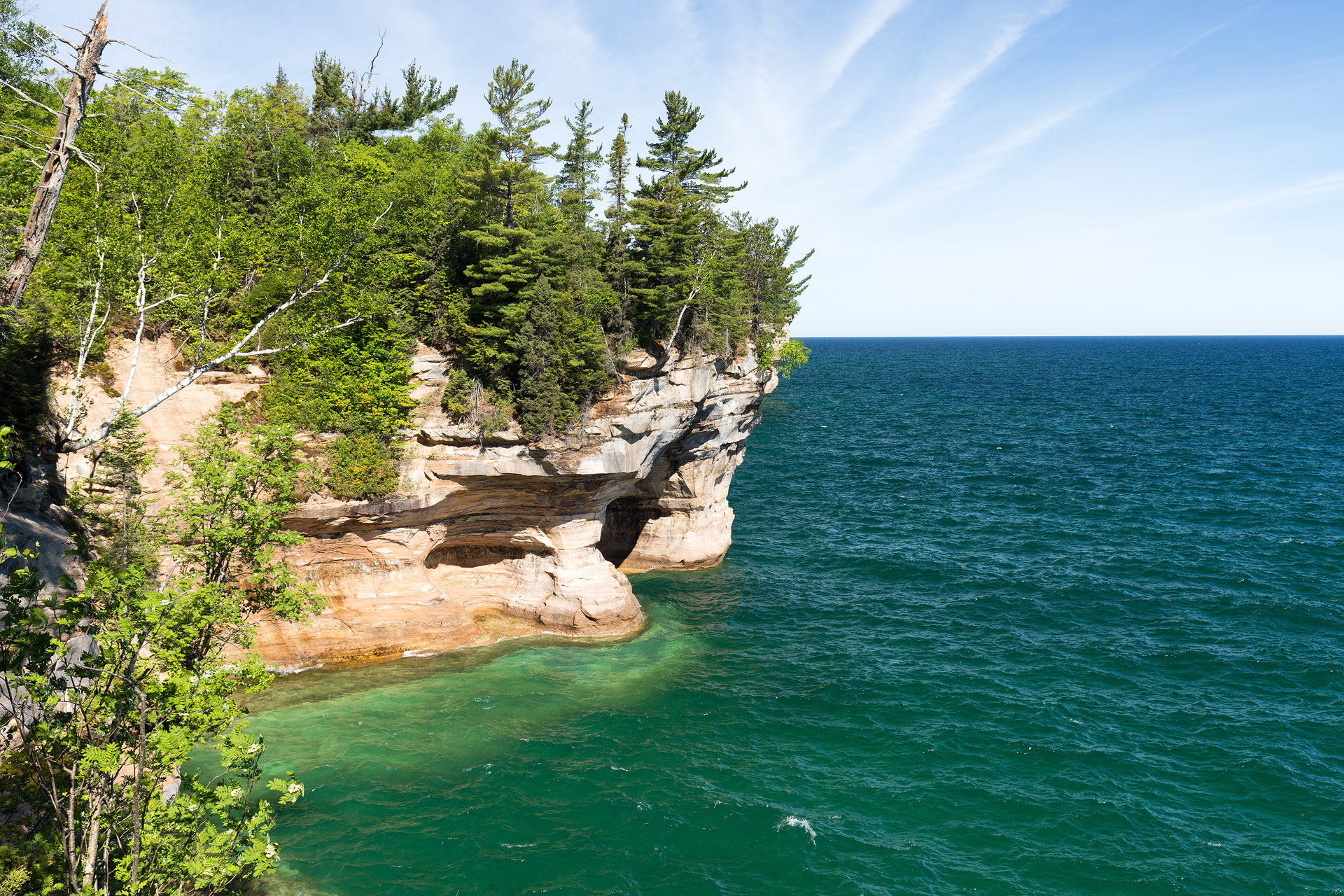 the national parks girl_pictured rocks national lakeshore_chapel loop_beaver creek_canon6d-21.jpg