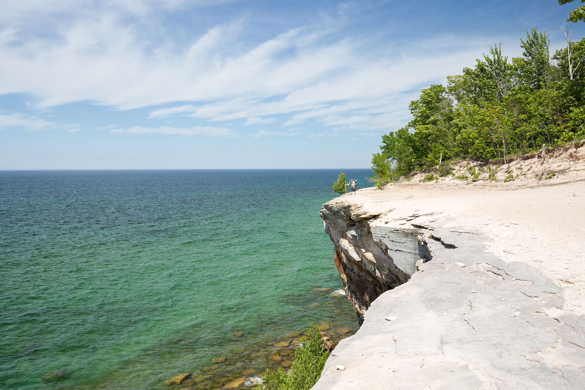 the national parks girl_pictured rocks national lakeshore_chapel loop_beaver creek_canon6d-44.jpg