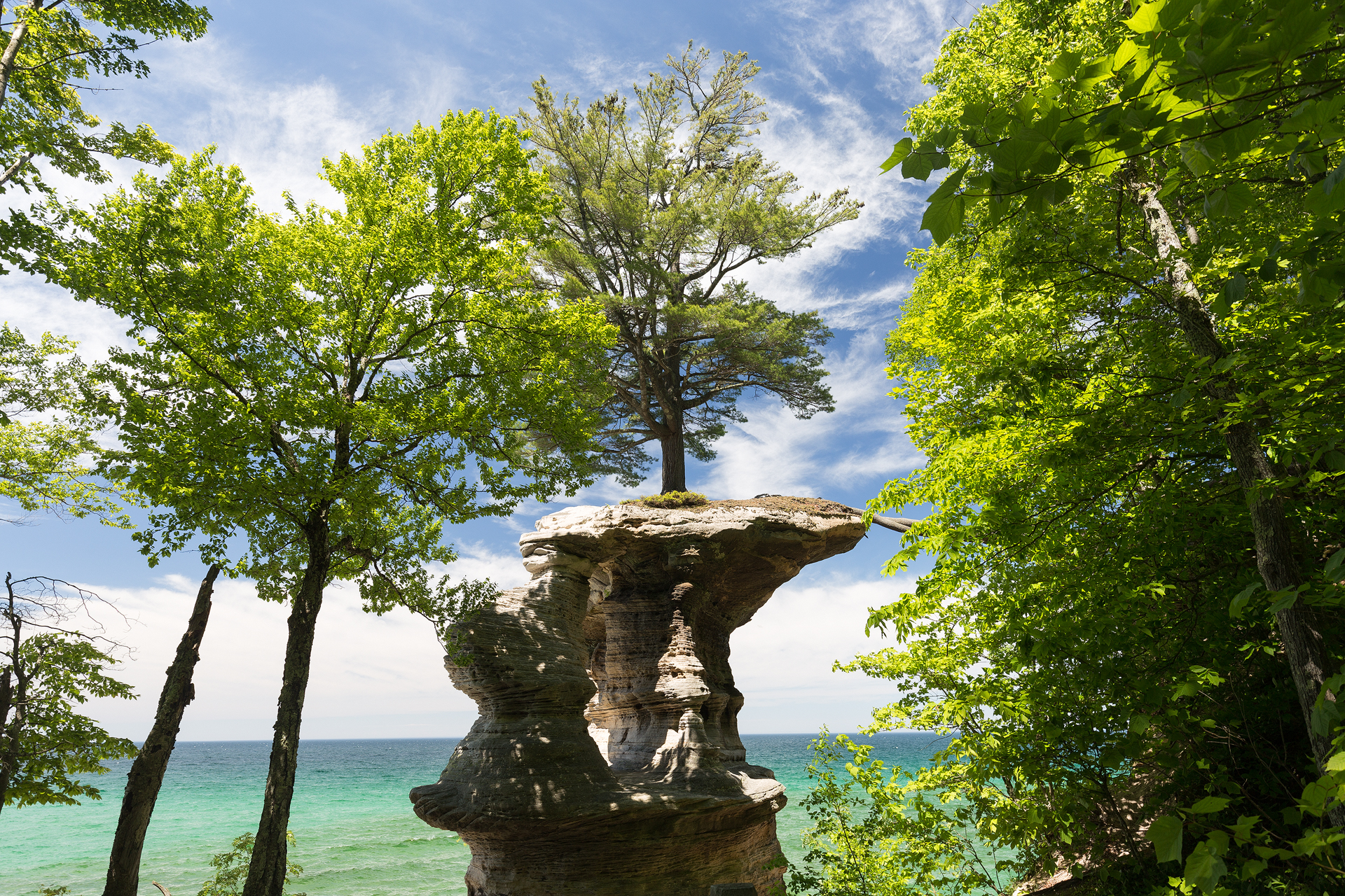the national parks girl_pictured rocks national lakeshore_chapel loop_beaver creek_canon6d-50.jpg