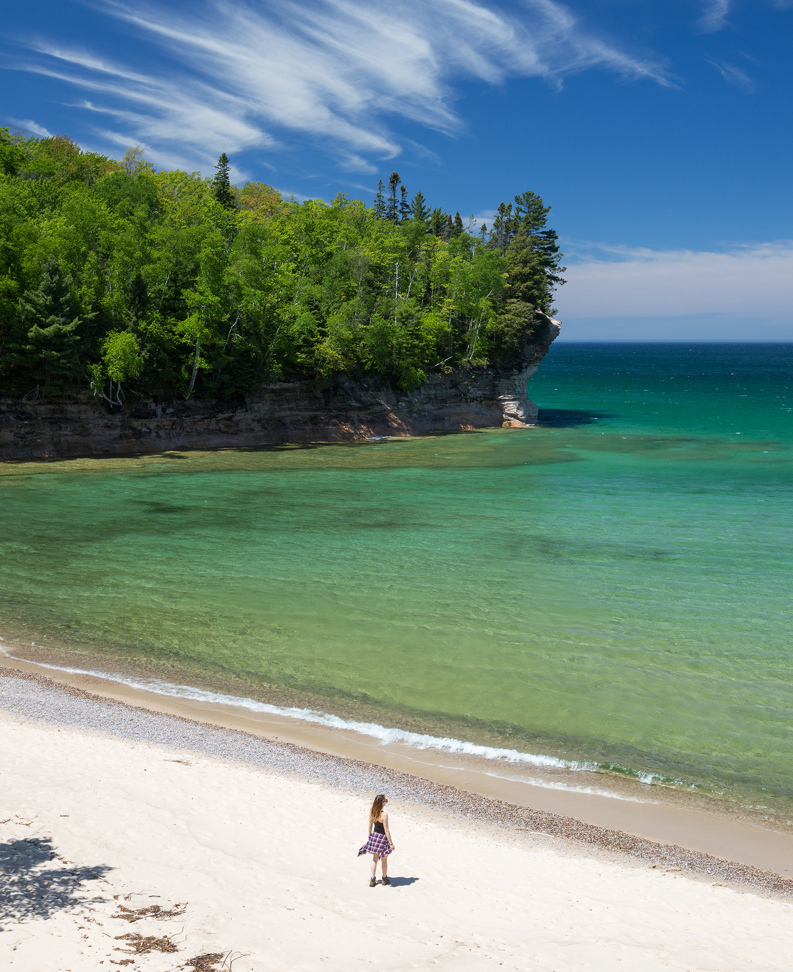 the national parks girl_pictured rocks national lakeshore_chapel loop_beaver creek_canon6d-62.jpg