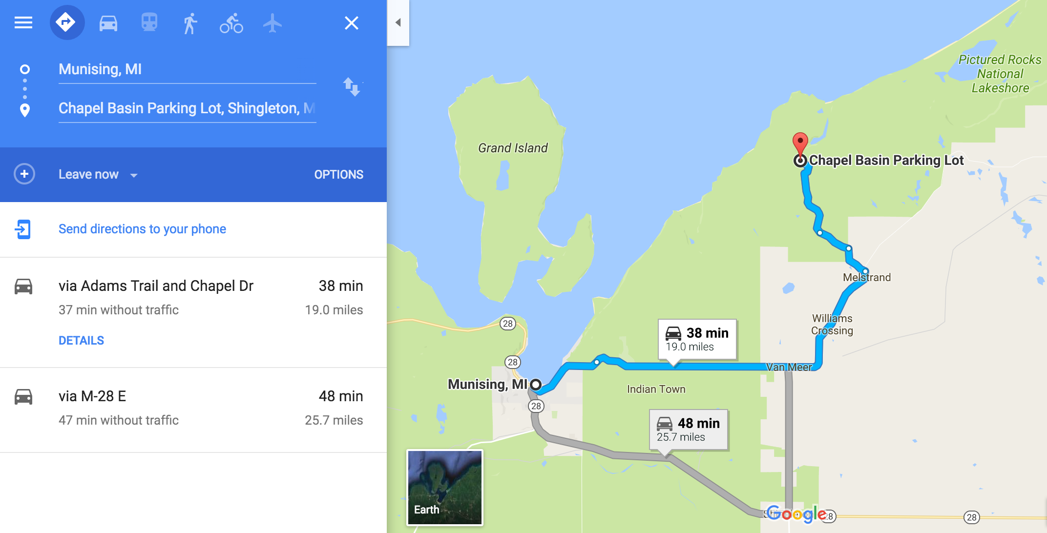 For Google Directions Click  HERE