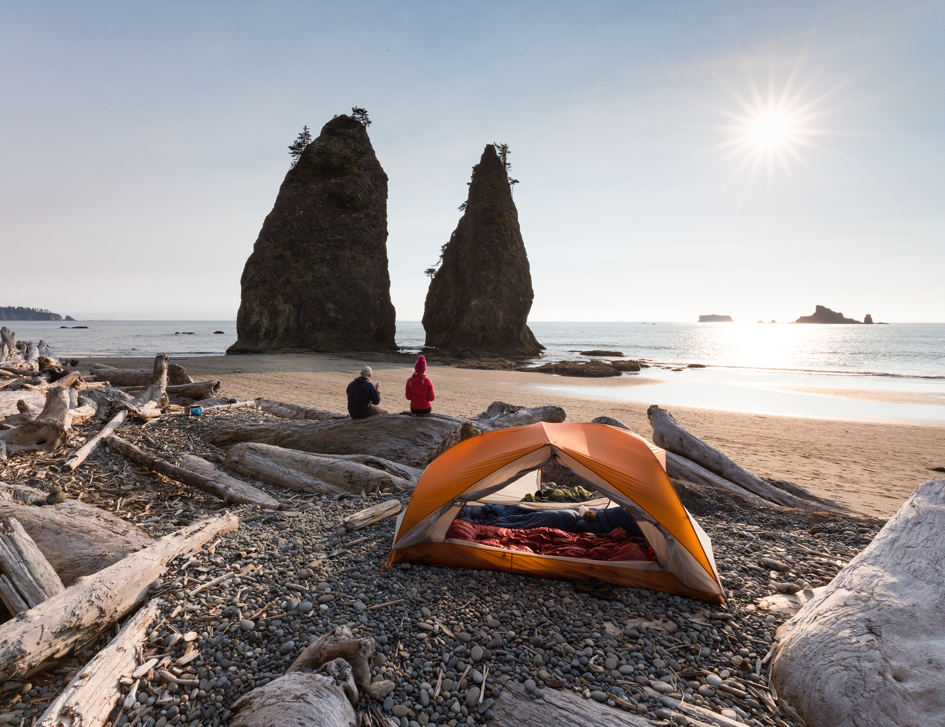 Hole-in-the-Wall Campsite (Olympic National Park, September 2017)