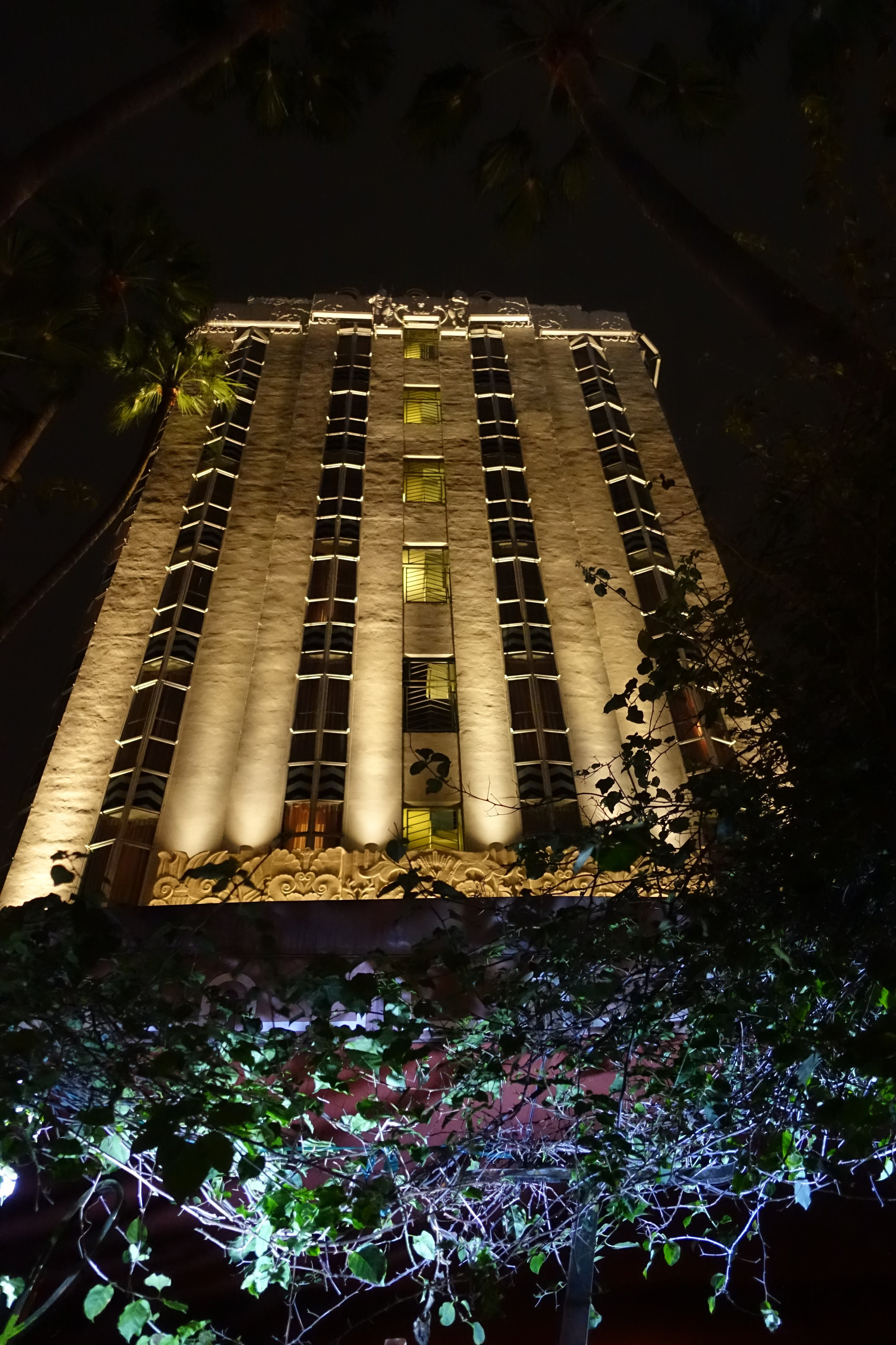 The 1929 Art Deco Sunset Tower, once home to John Wayne, Marilyn Monroe and Frank Sinatra