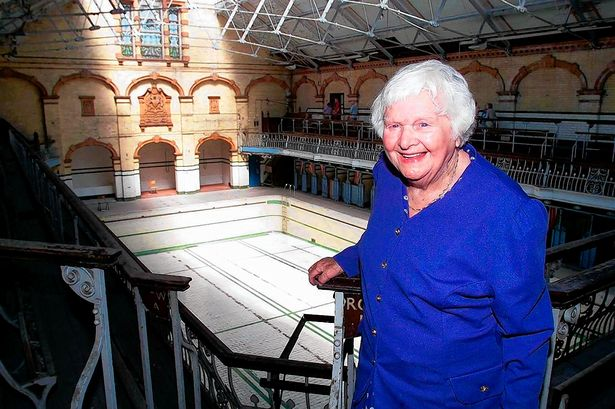 Sunny Lowry at Victoria Baths