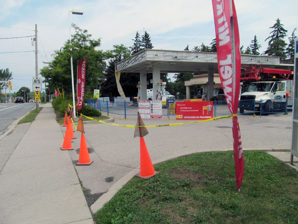 Site installation barrier
