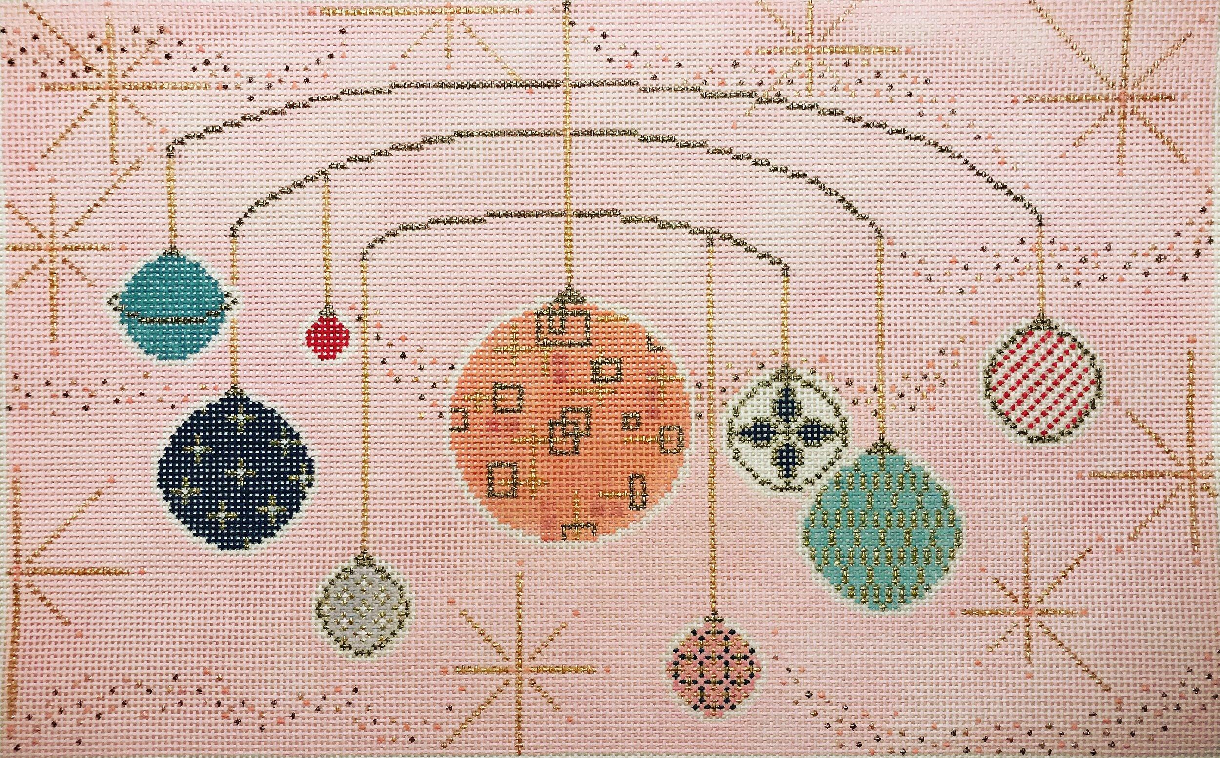 "Across the Universe 15VV   15"" x 9"" on 13 mesh"