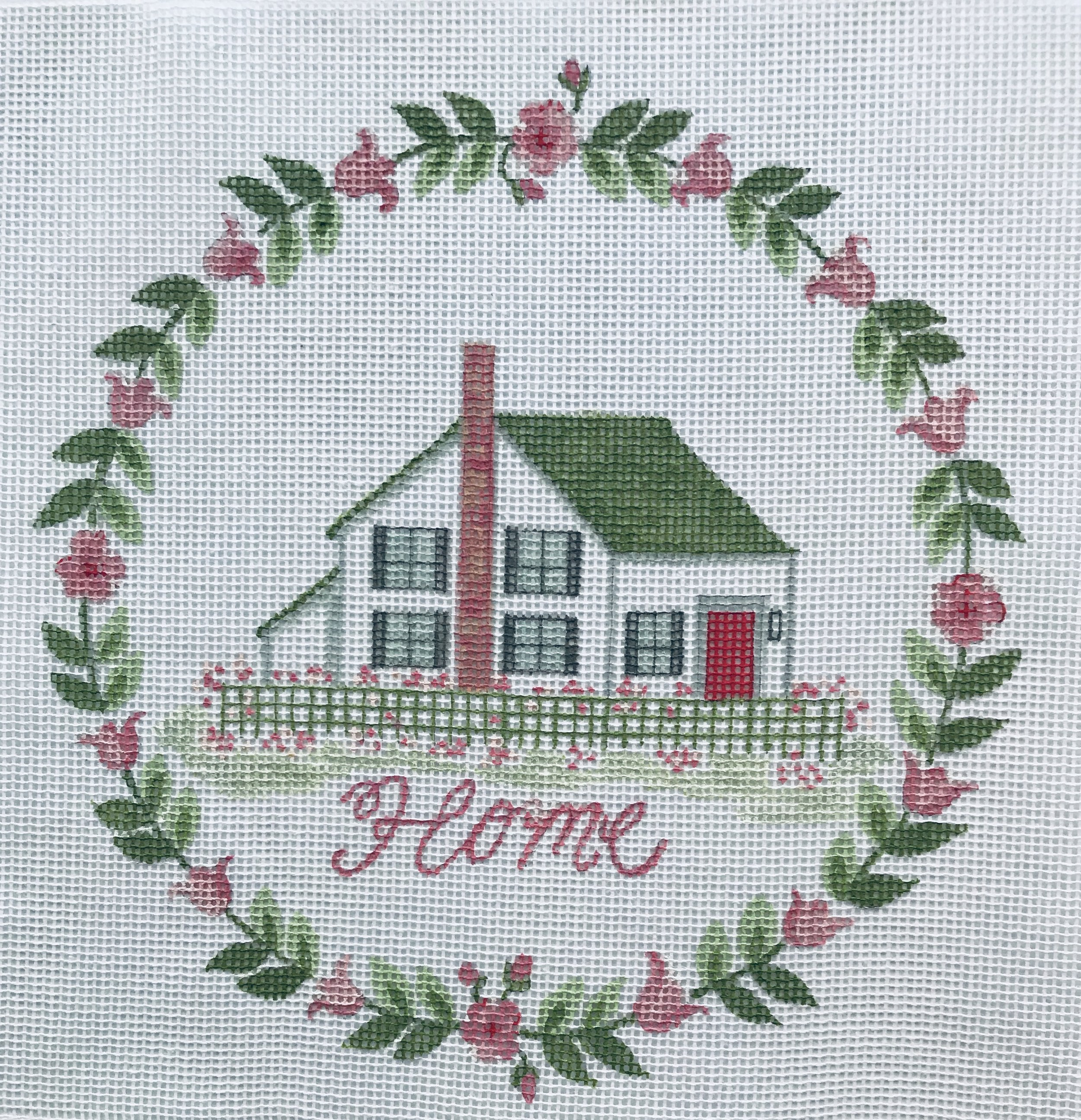 "Home - no ivy TSG15   8"" round on 14 mesh"