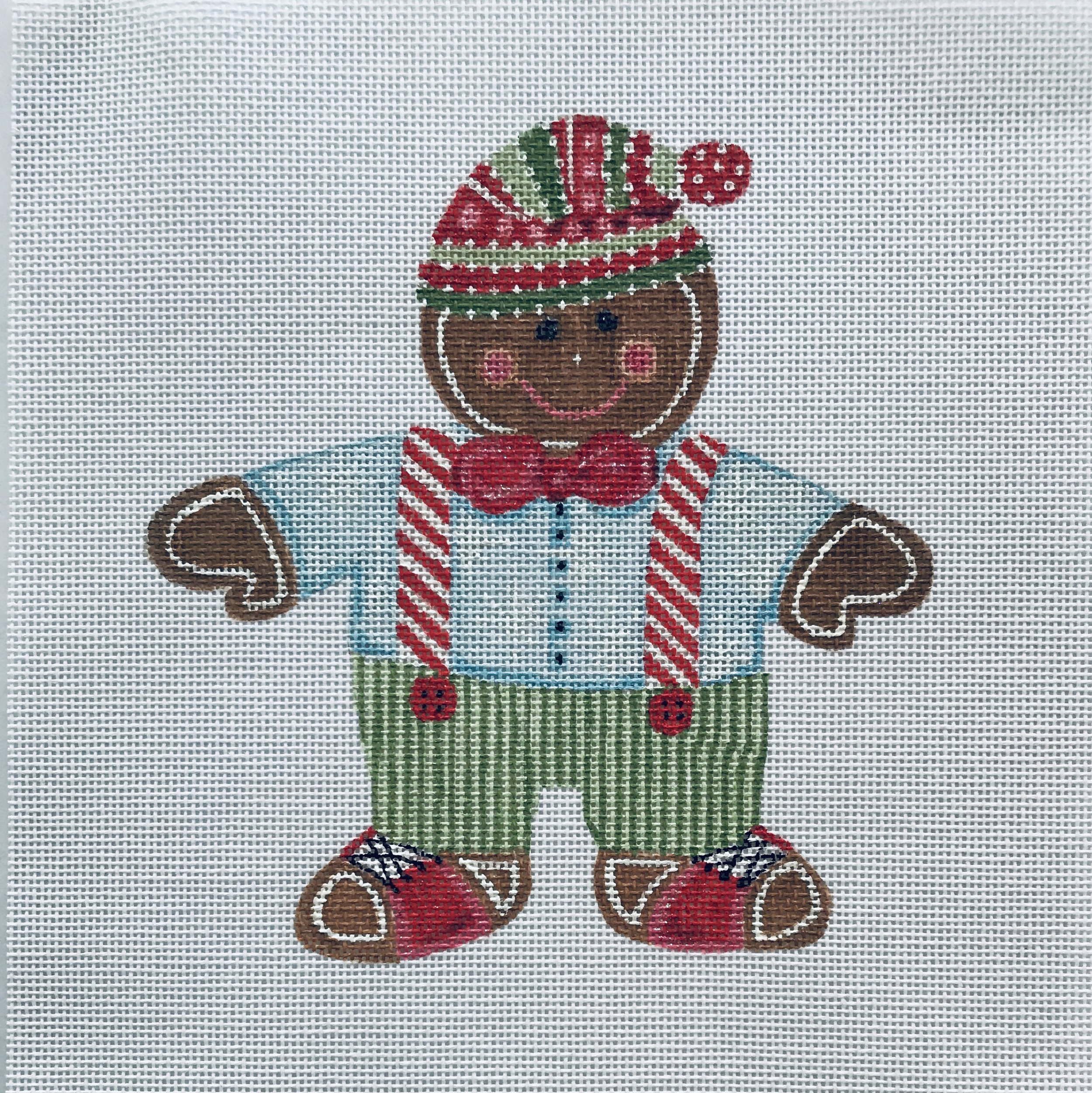 """The No-calorie Christmas Cookie - Fred TSG12   6"""" x 6"""" on 18 mesh"""
