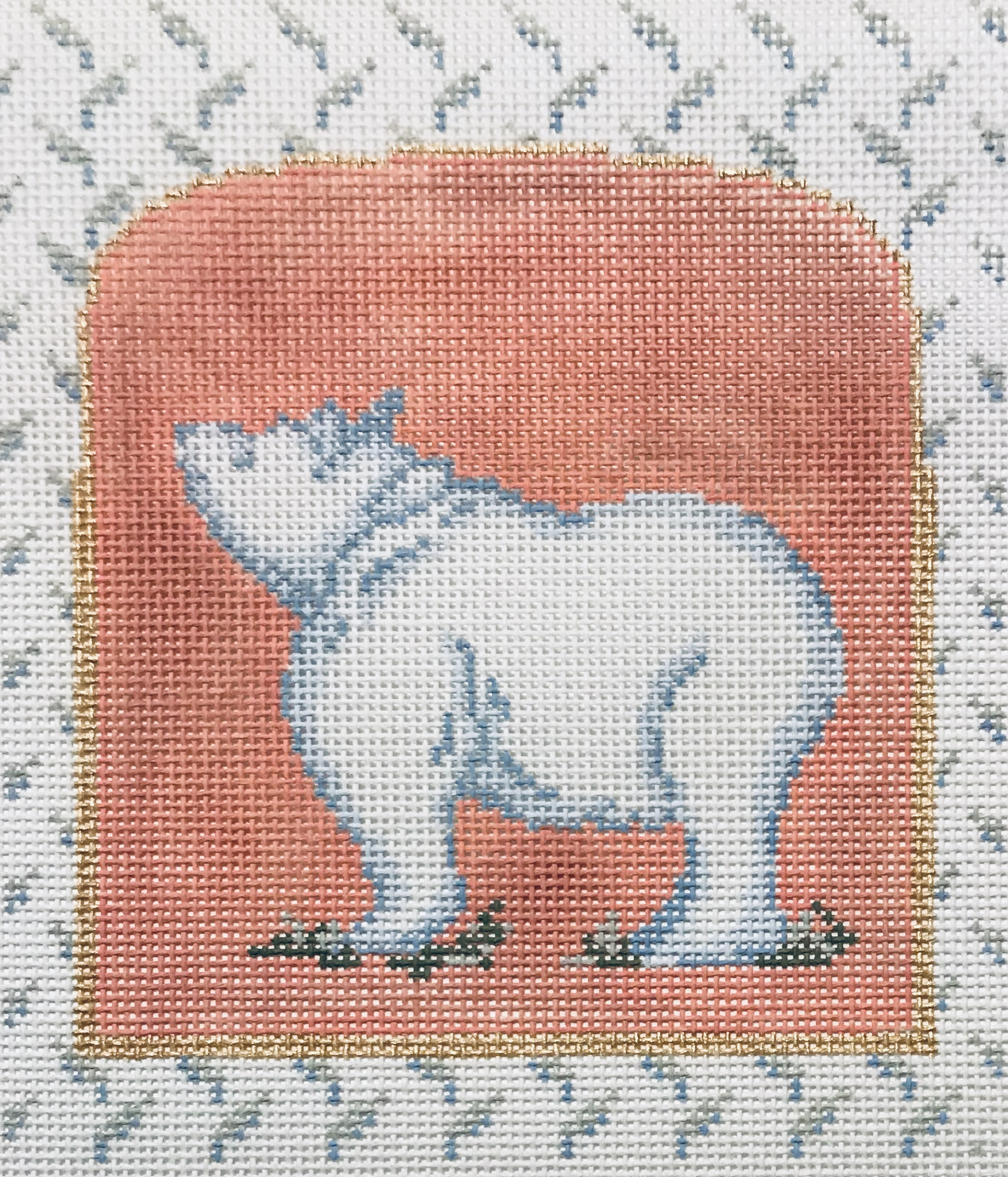 "Mother Nature Series - Bear 15BBB-2   5.5"" x 5"" on 18 mesh"