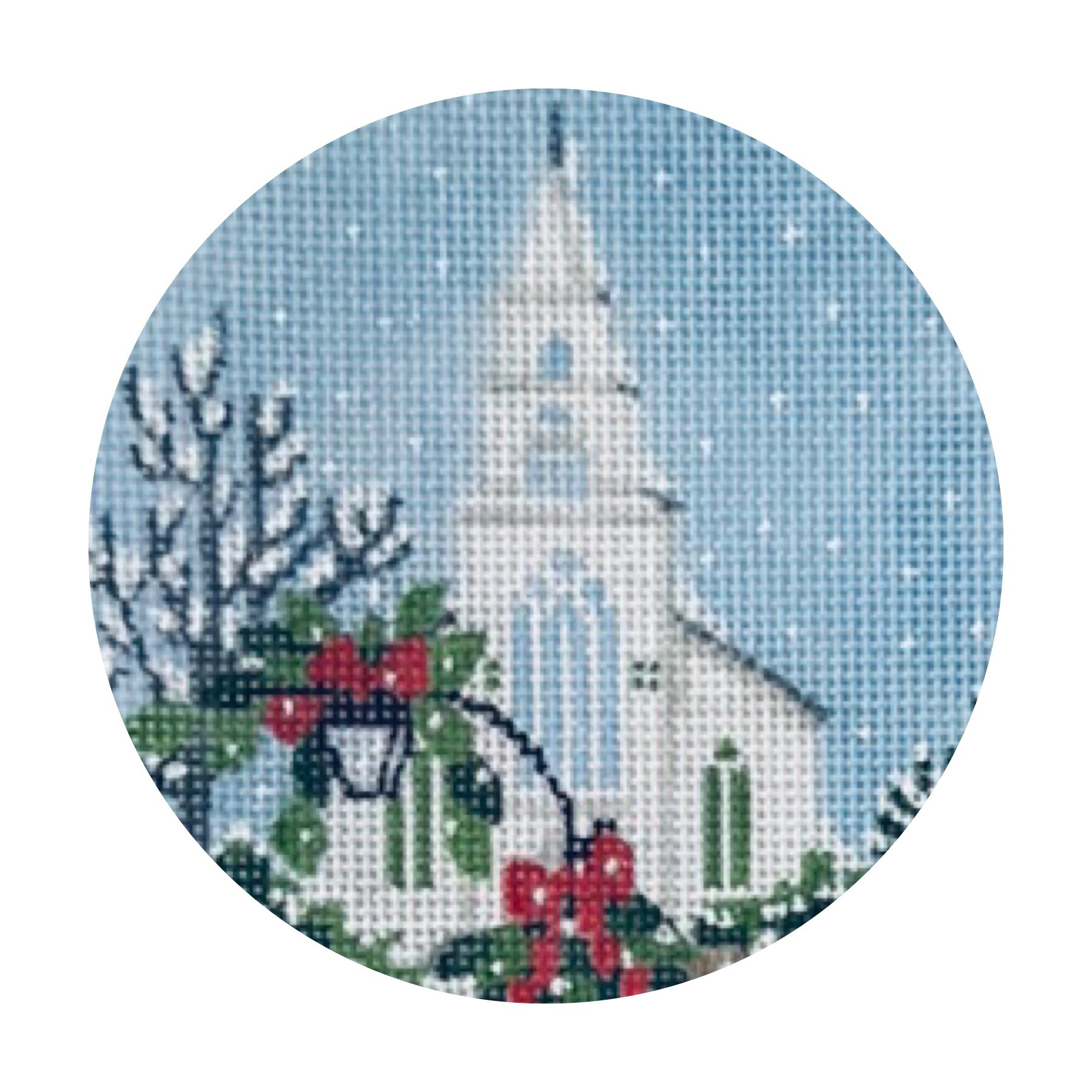 "First Congregational TSG25-I   4"" round on 18 mesh"