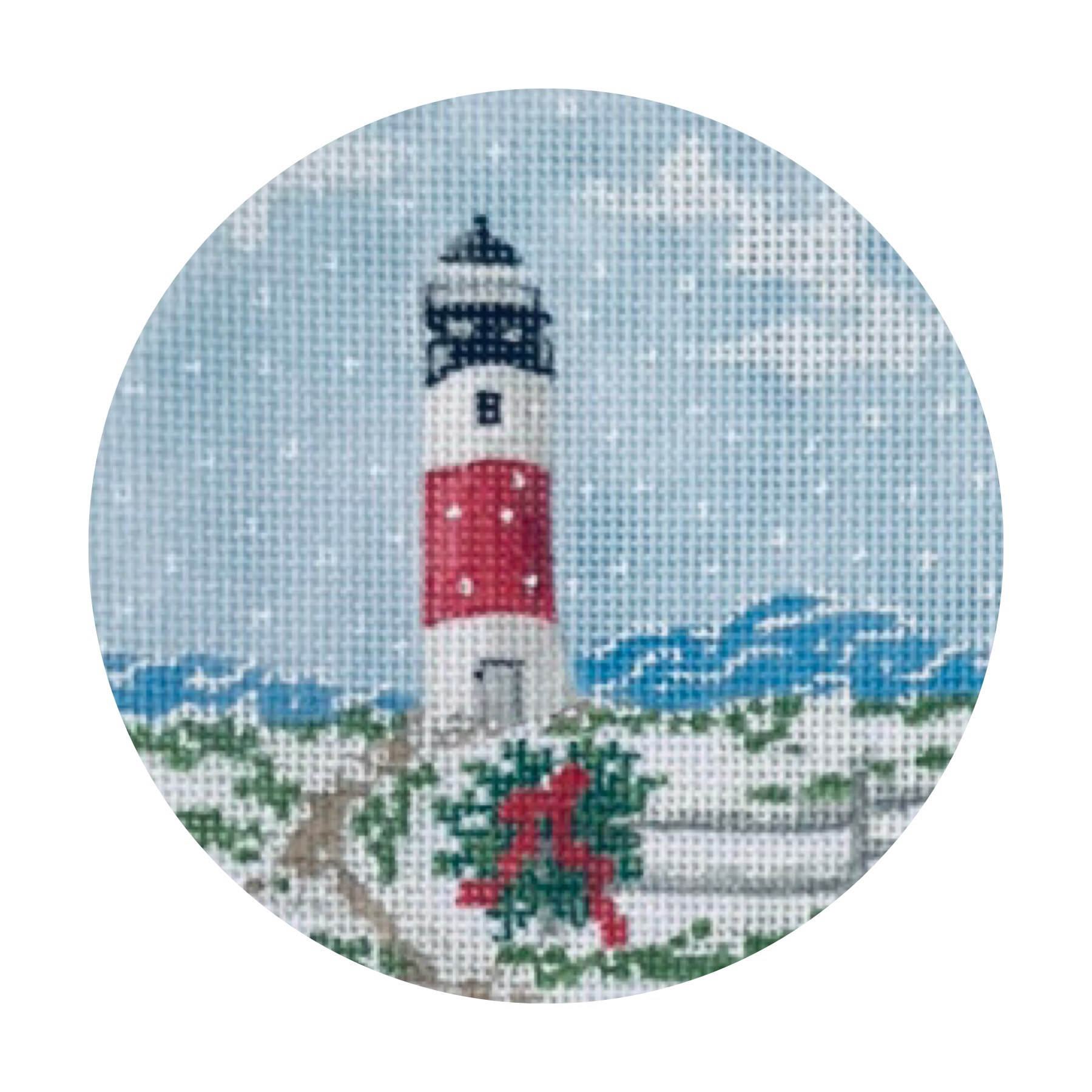 "Sankaty Lighthouse TSG25-H   4"" round on 18 mesh"