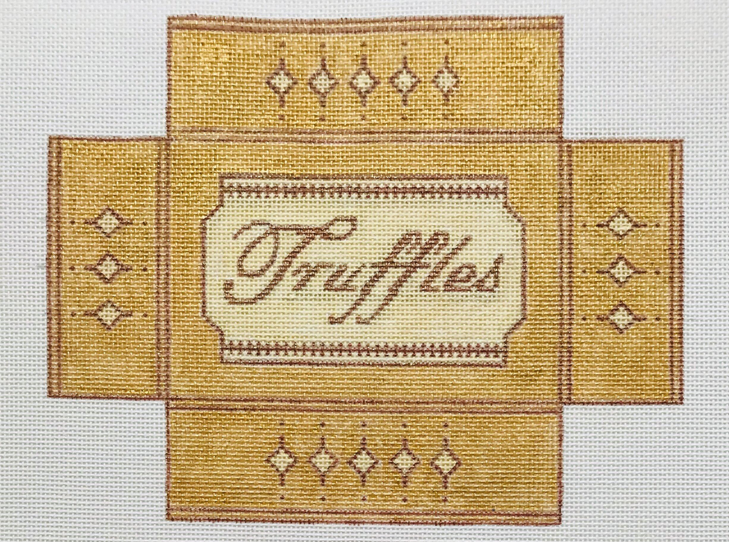 """Truffles Box WWB5   8"""" x 6.25"""" on 18 mesh"""