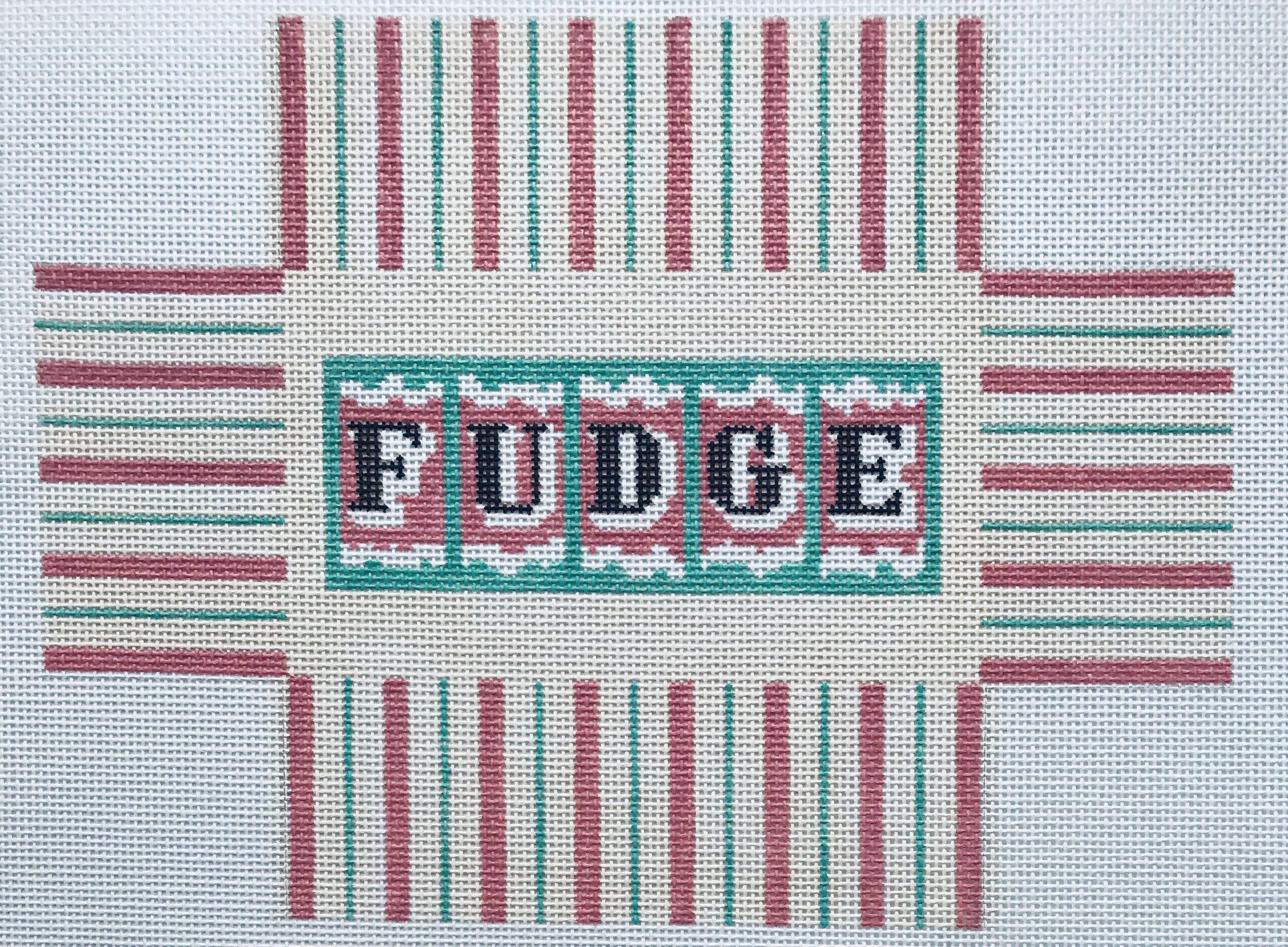 """Fudge Box WWB6   8.5"""" x 6.5"""" on 18 mesh"""