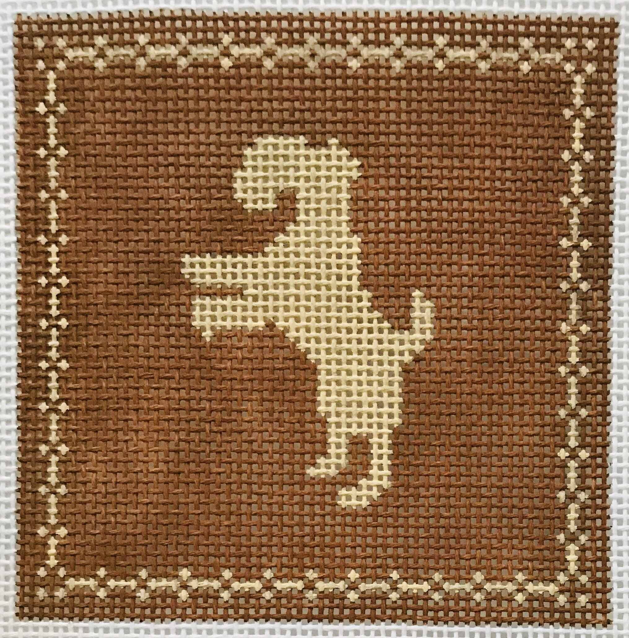 "Terrier AL105   4"" x 4"" on 14 mesh"