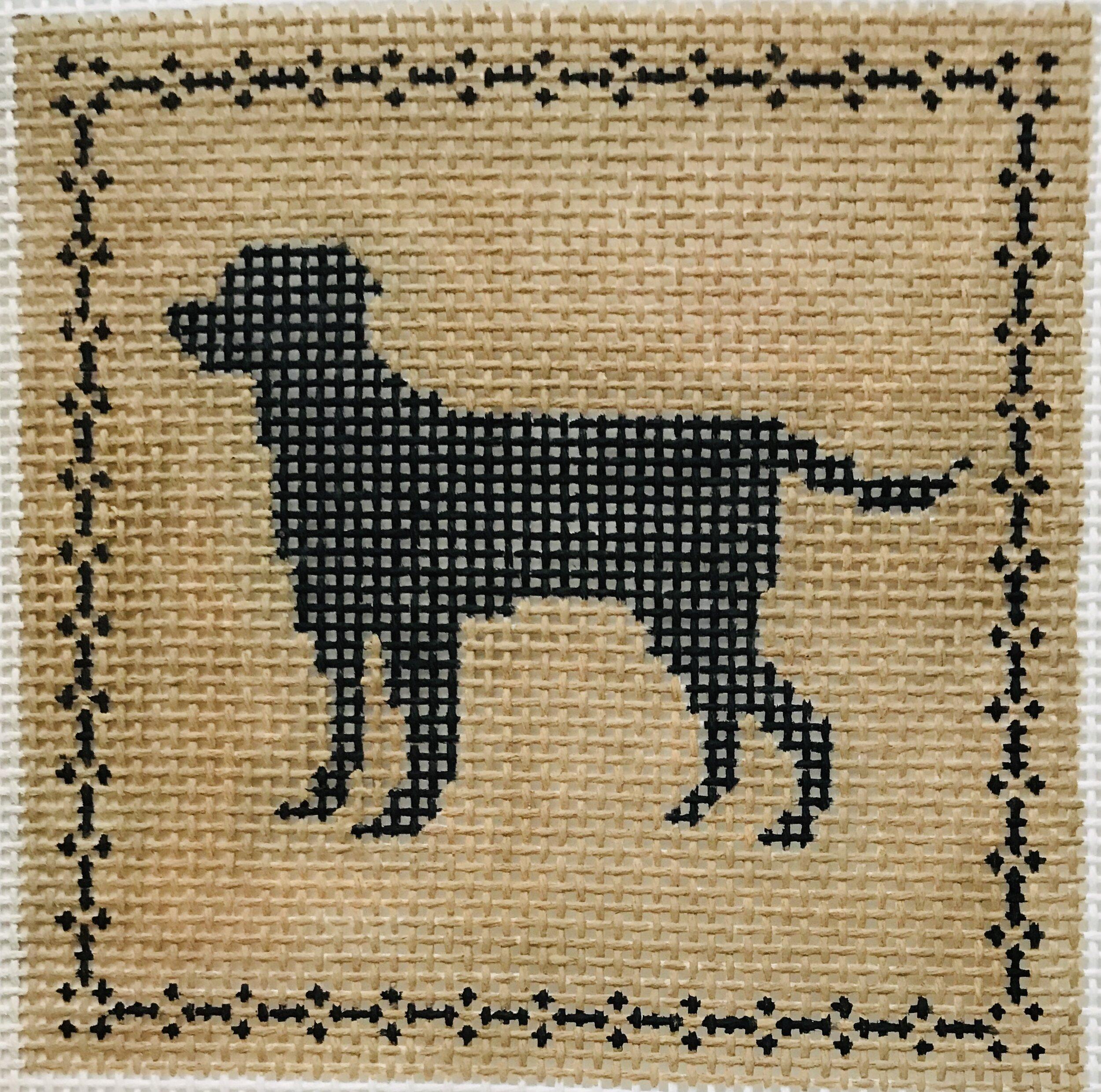 """Labrador AL121  4"""" x 4"""" on 14 mesh"""