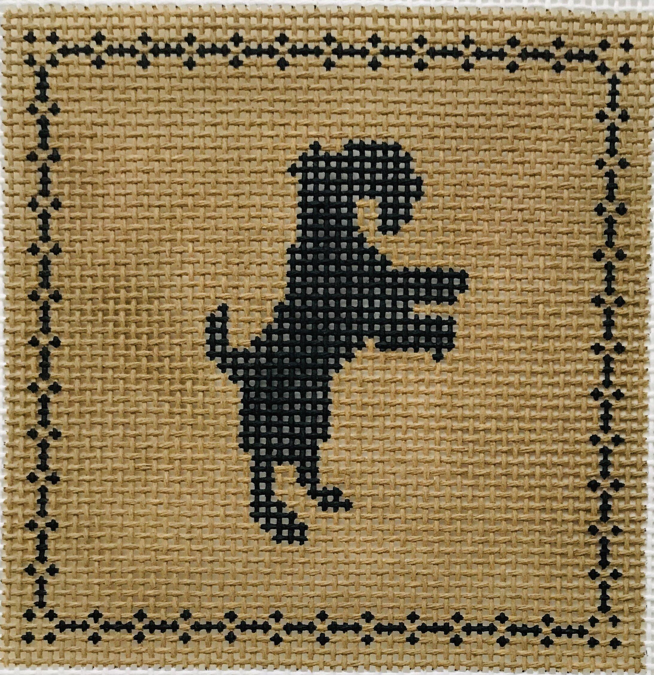"Terrier AL126   4"" x 4"" on 14 mesh"