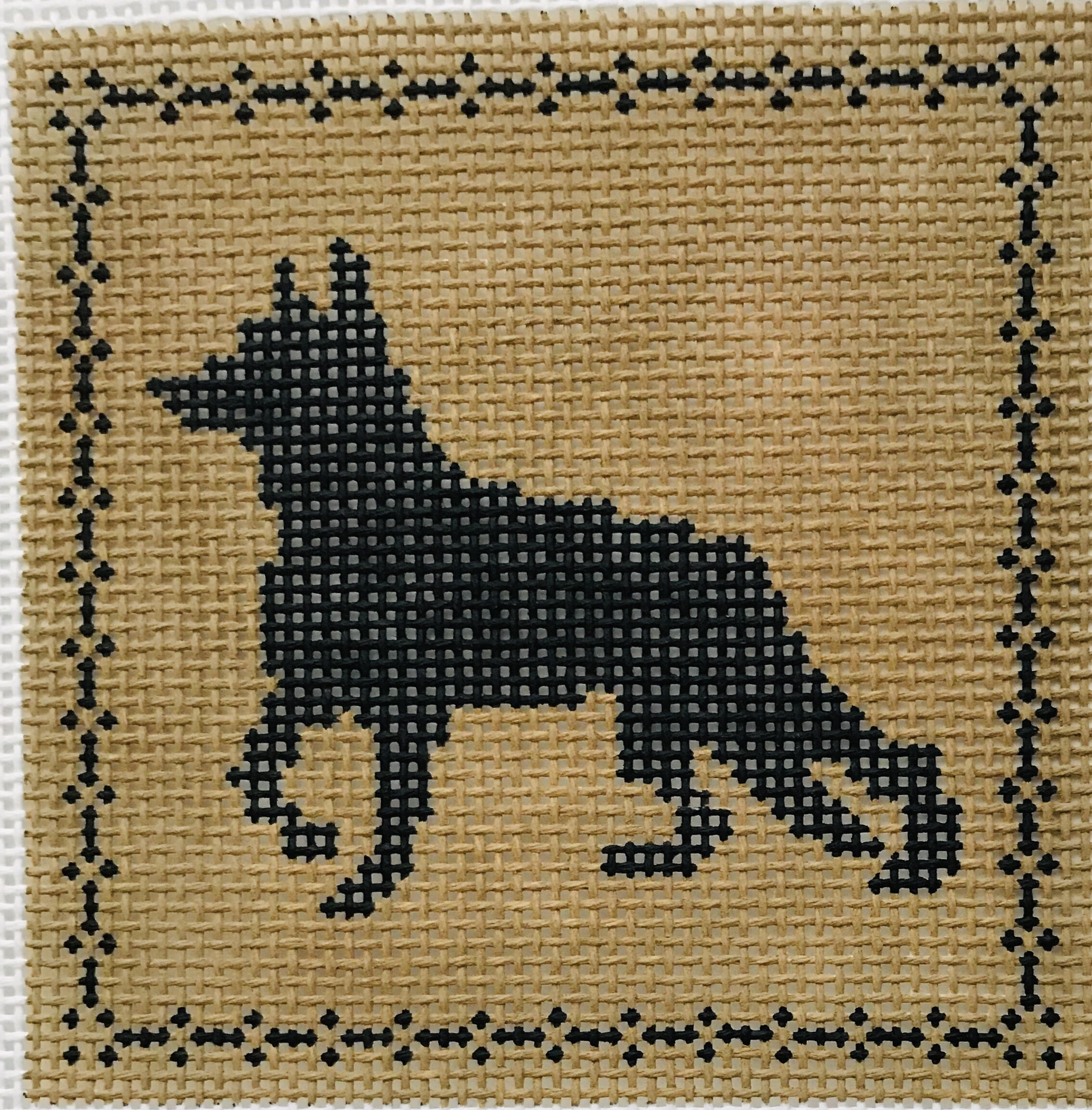 "Shepherd AL128   4"" x 4"" on 14 mesh"