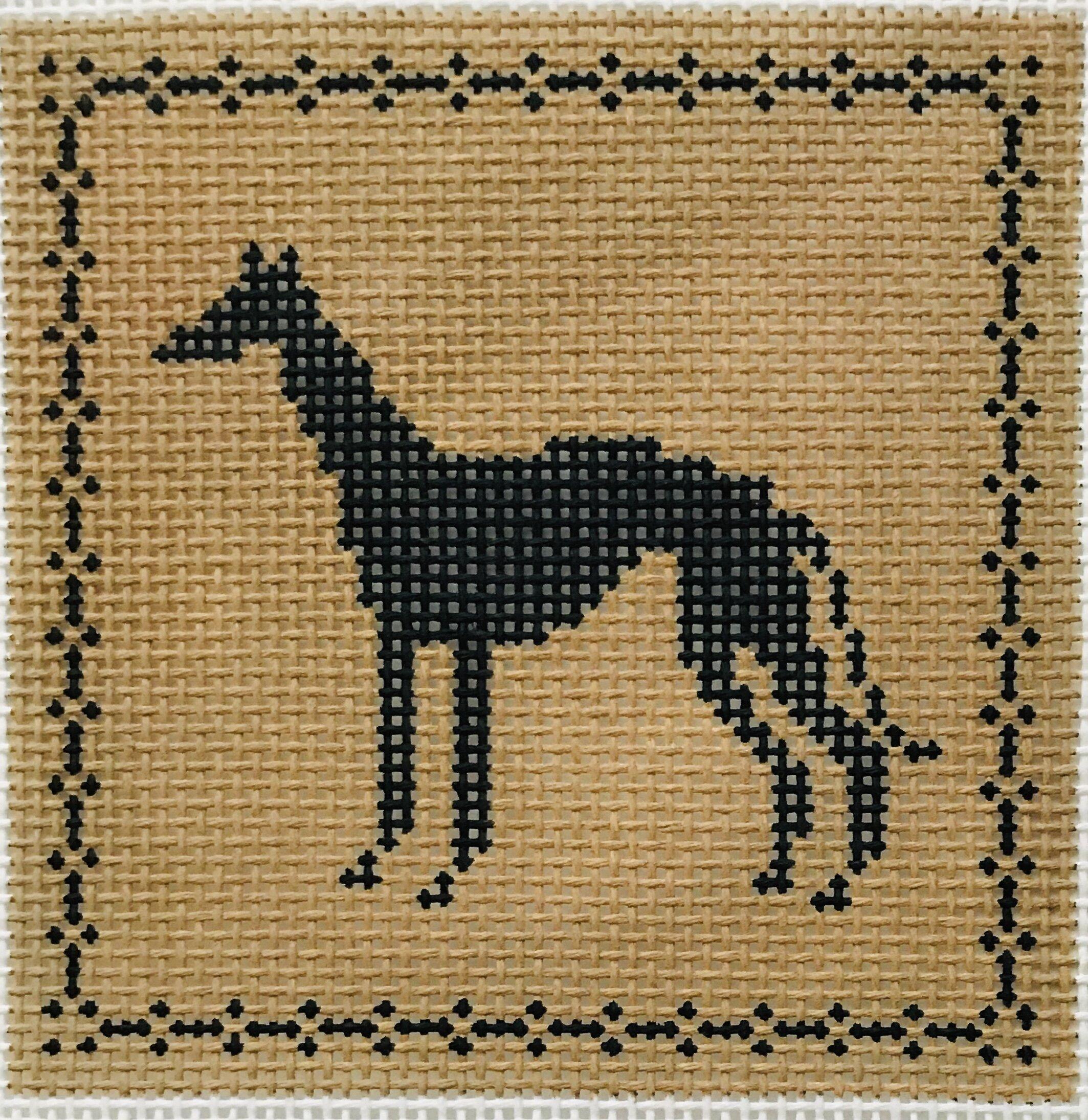 """Greyhound AL133   4"""" x 4"""" on 14 mesh"""