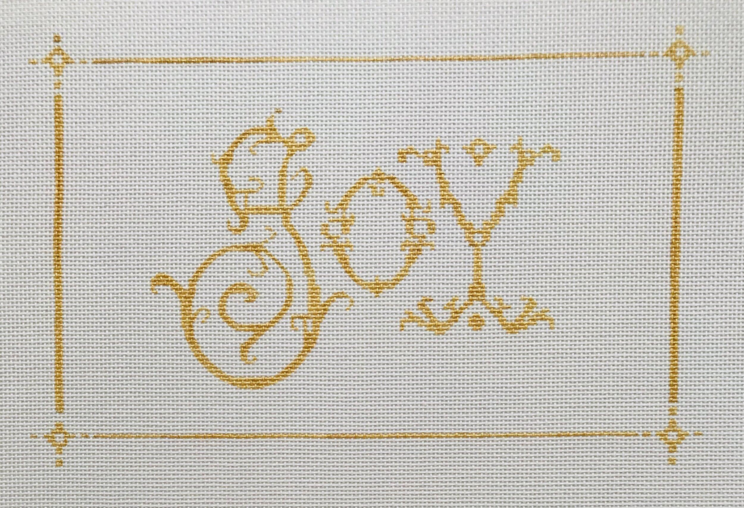 "Joy ALJPL1   9"" x 6"" on 18 mesh"